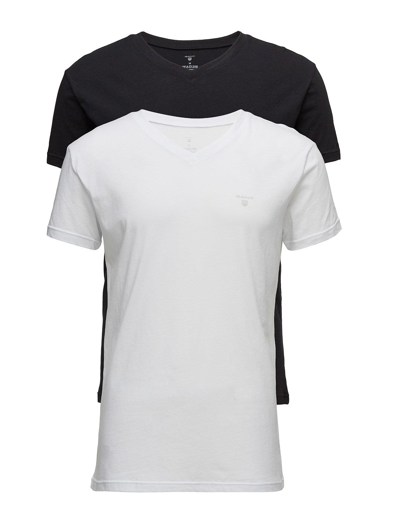 Basic 2 Pack V Neck T Shirt T shirt Multimønstret GANT