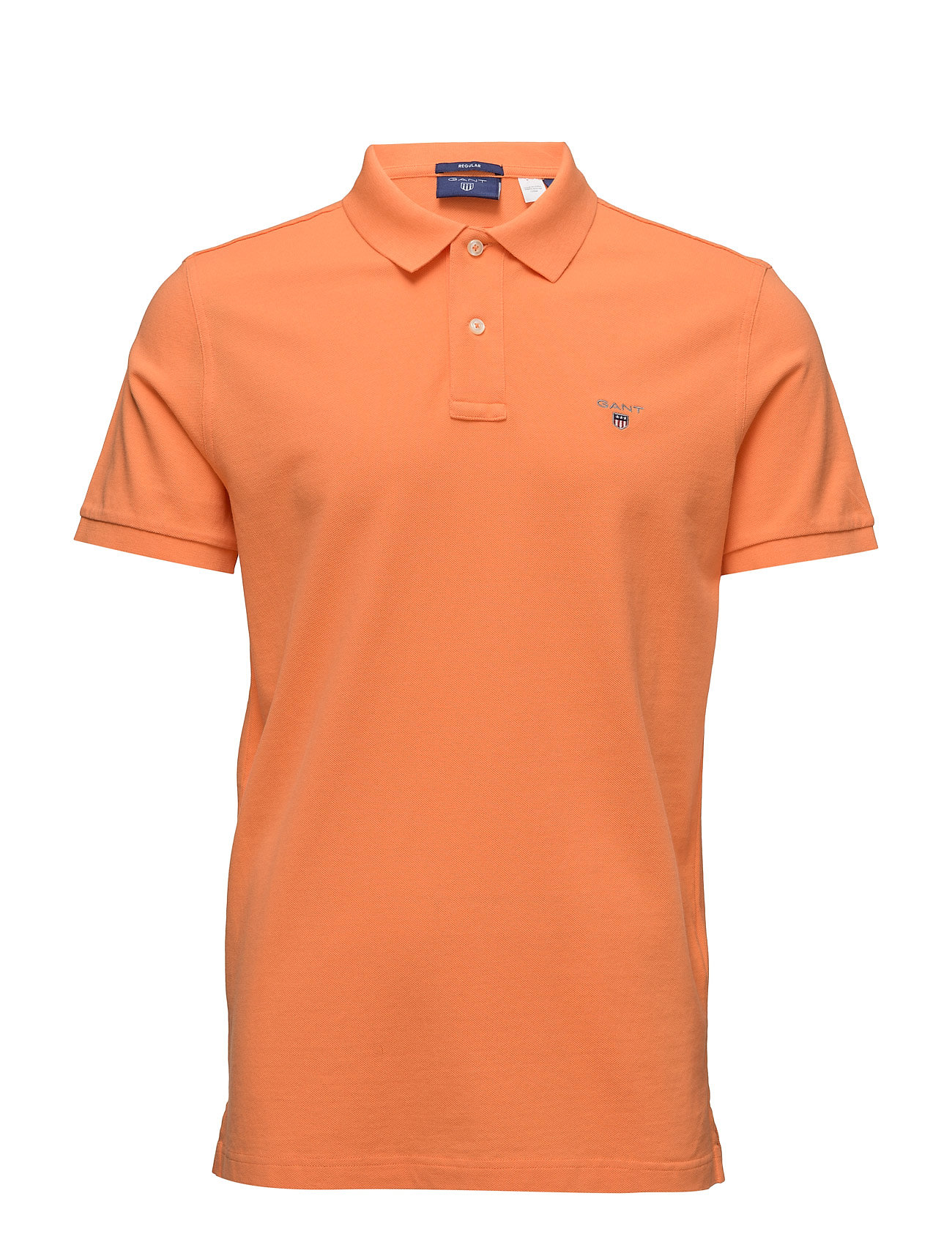 Gant THE ORIGINAL PIQUE SS RUGGER - CARROT ORANGE