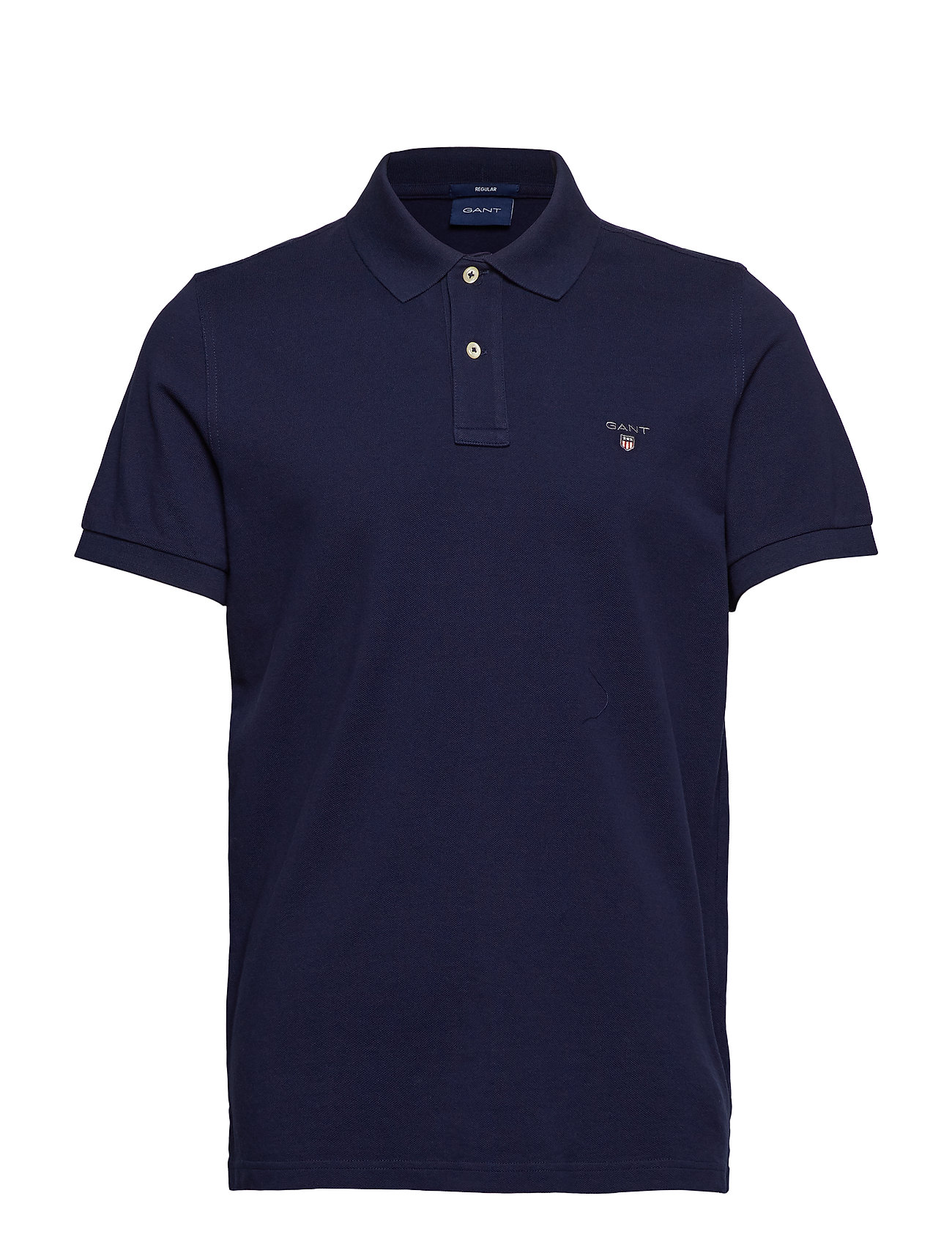 GANT THE ORIGINAL PIQUE SS RUGGER - EVENING BLUE