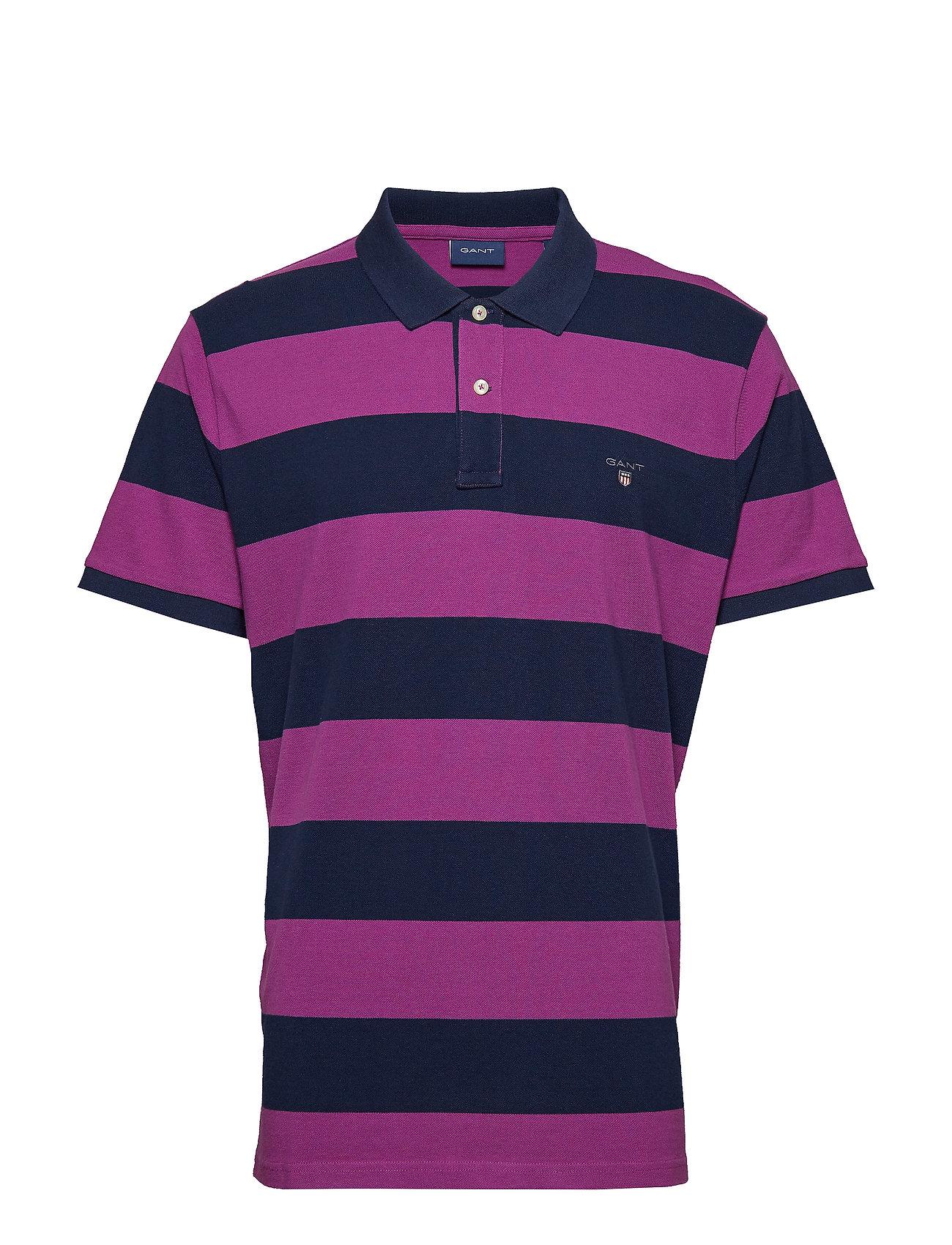 L. Barstripe Pique Rugger Poloshirt GANT