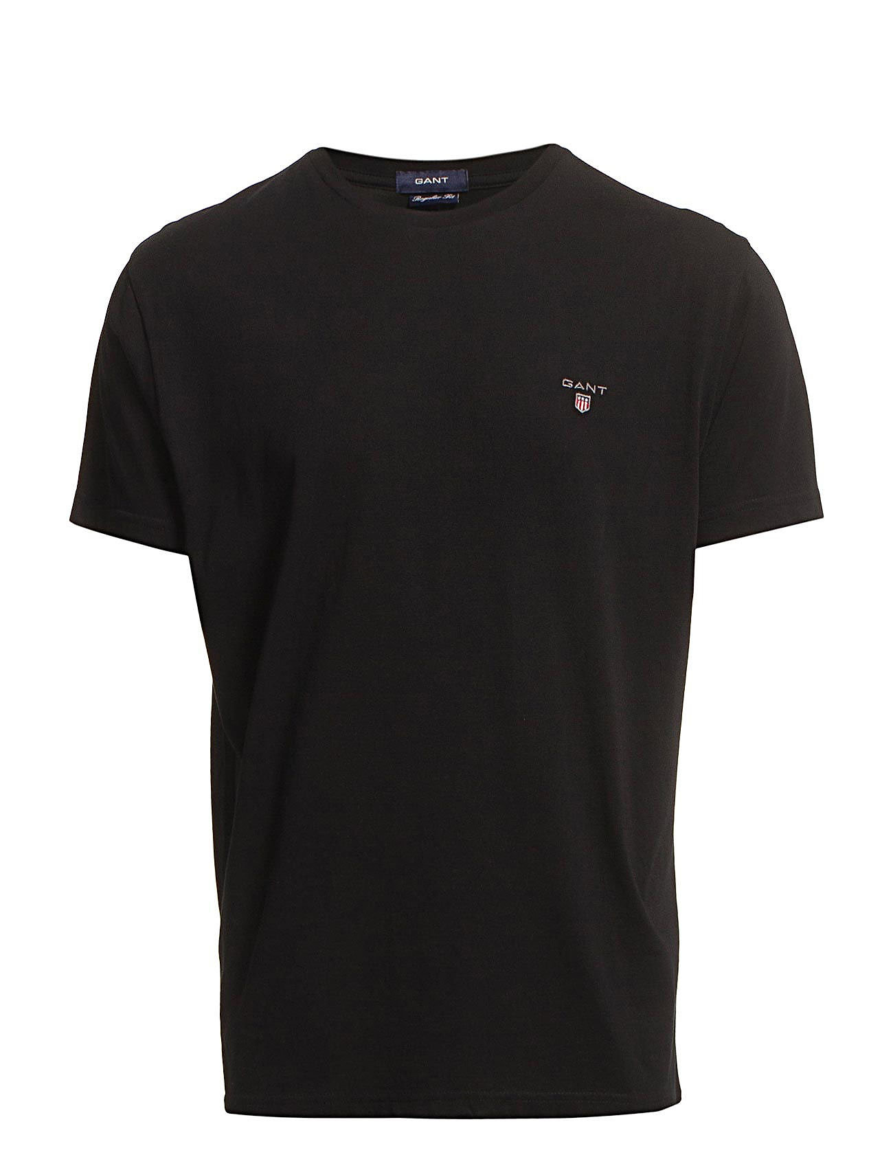 Gant ORIGINAL SS T-SHIRT - BLACK
