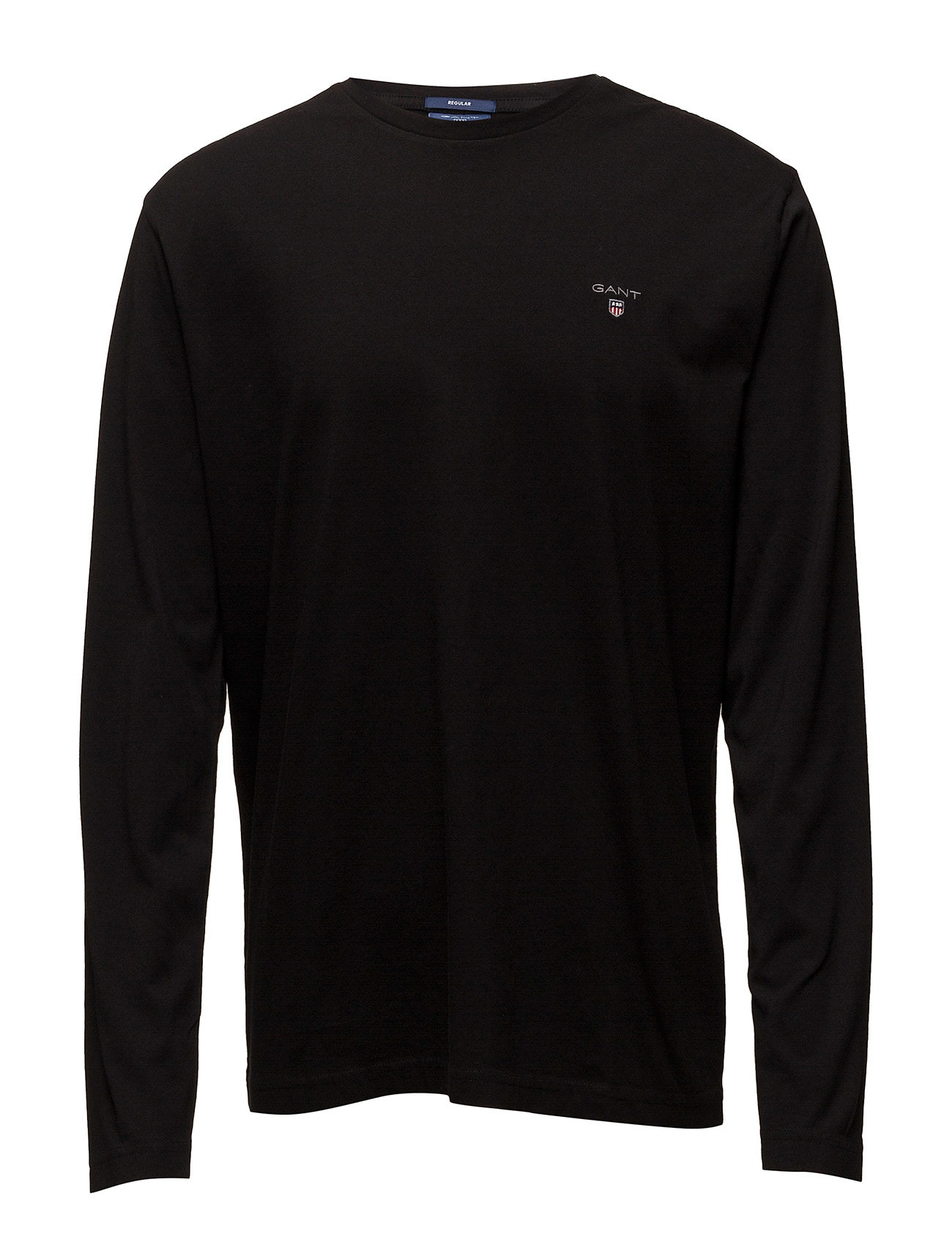 Gant THE ORIGINAL LS T-SHIRT - BLACK
