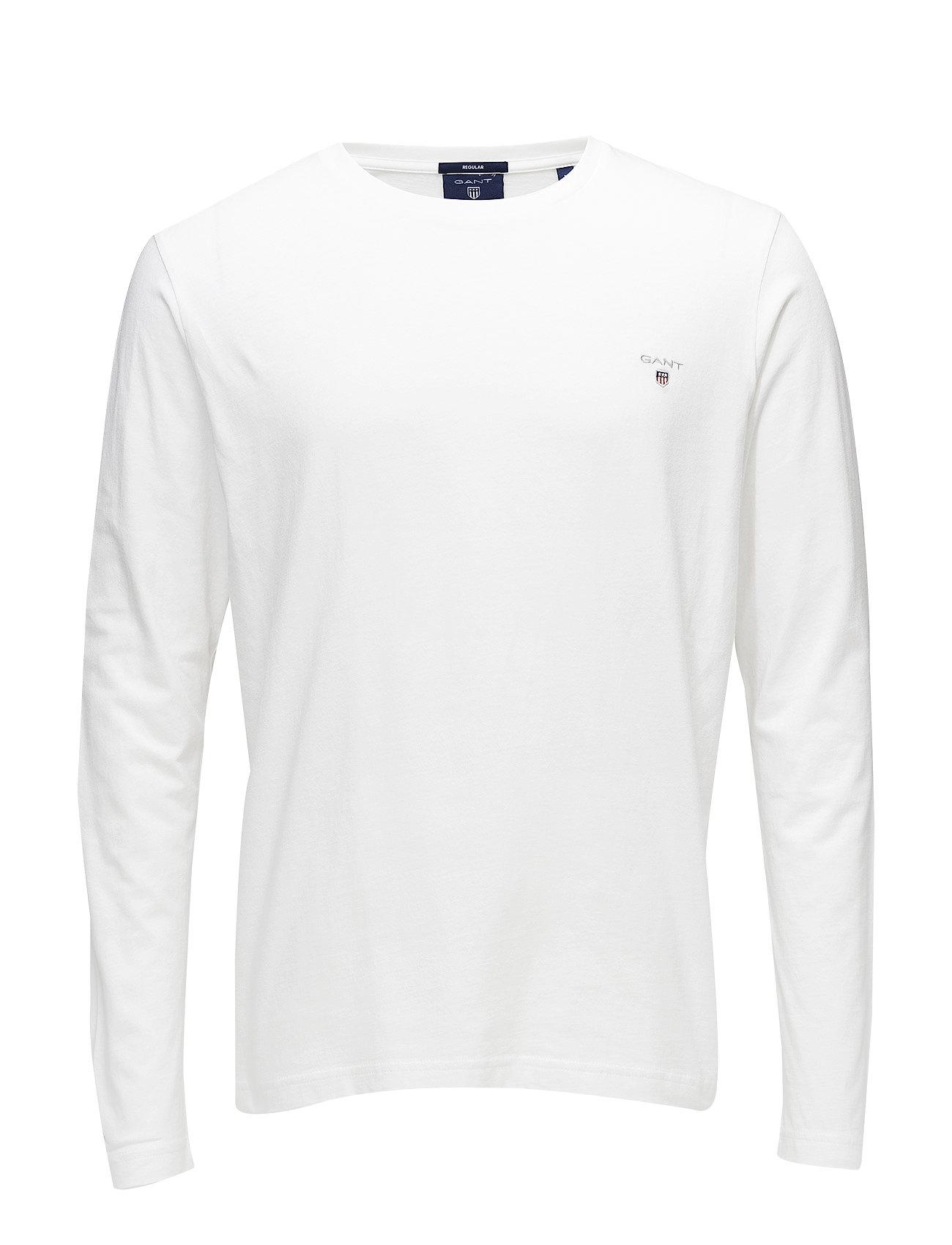 GANT THE ORIGINAL LS T-SHIRT - WHITE