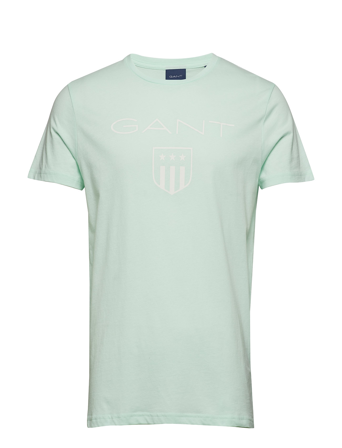 GANT O1. PRINTED GANT SHIELD SS T-SHIRT