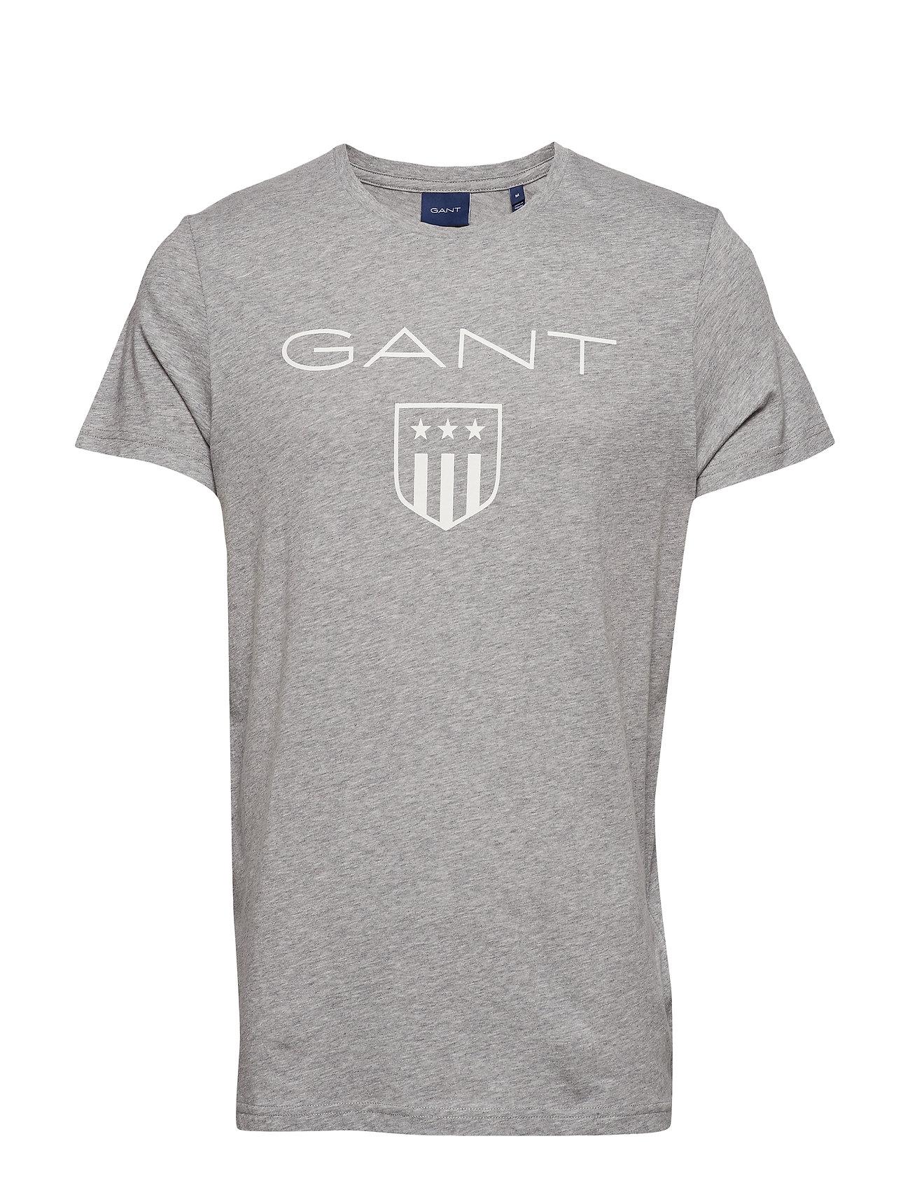 GANT O1. PRINTED GANT SHIELD SS T-SHIRT