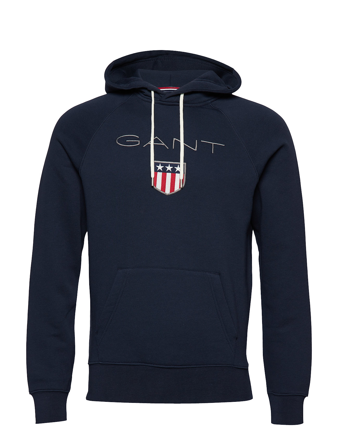 GANT GANT SHIELD HOODIE - EVENING BLUE