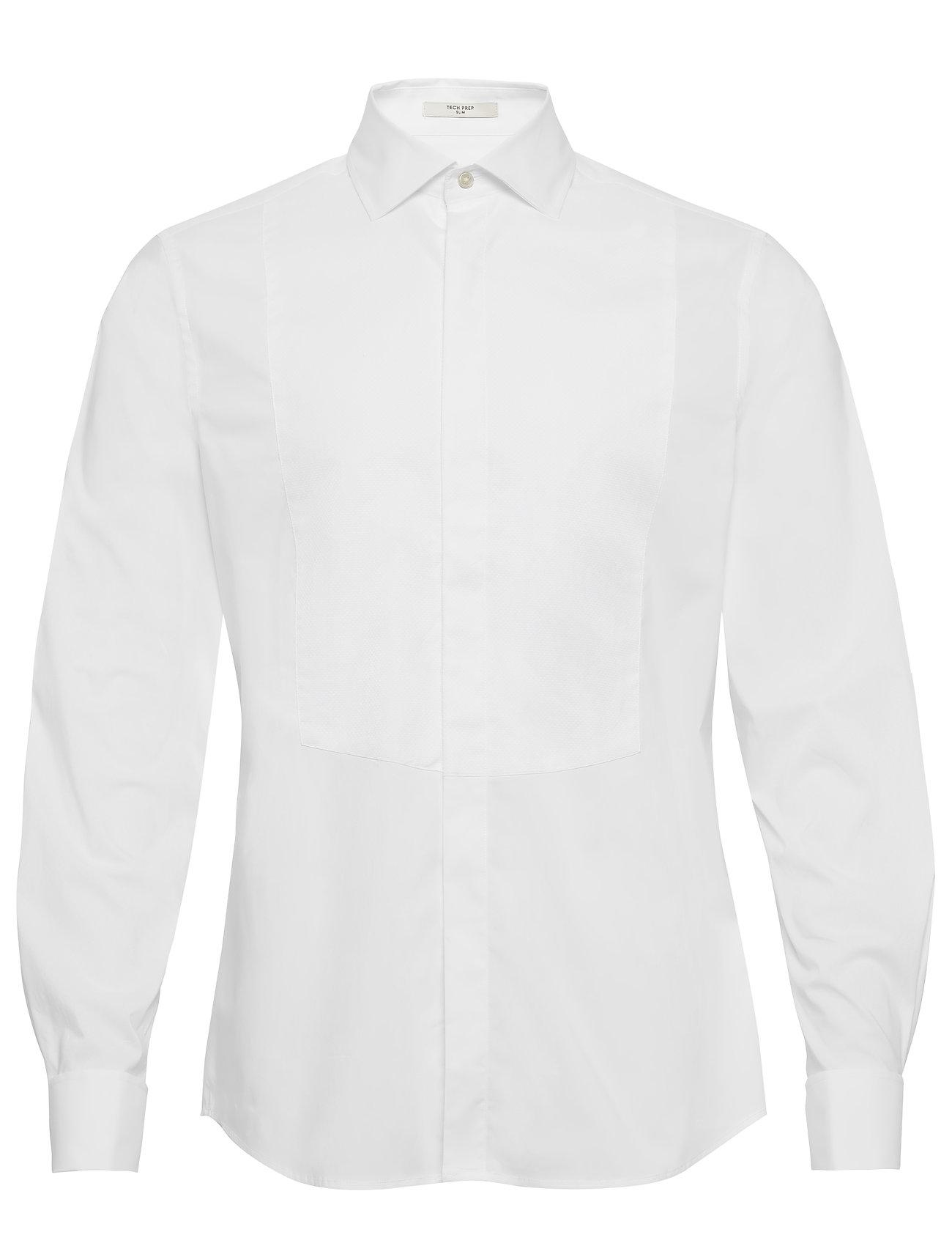 Gant G1. TP TUXEDO SHIRT SLIM SPREAD - WHITE
