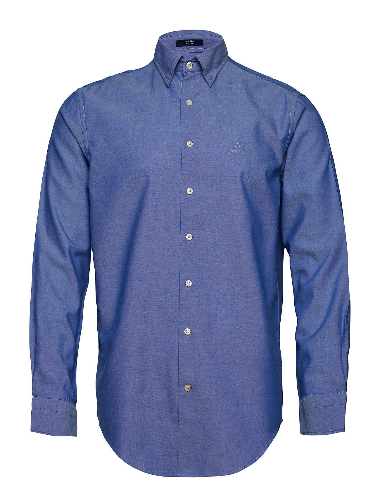 GANT Tp Oxford Plain Reg Hbd Hemd Business Blau GANT