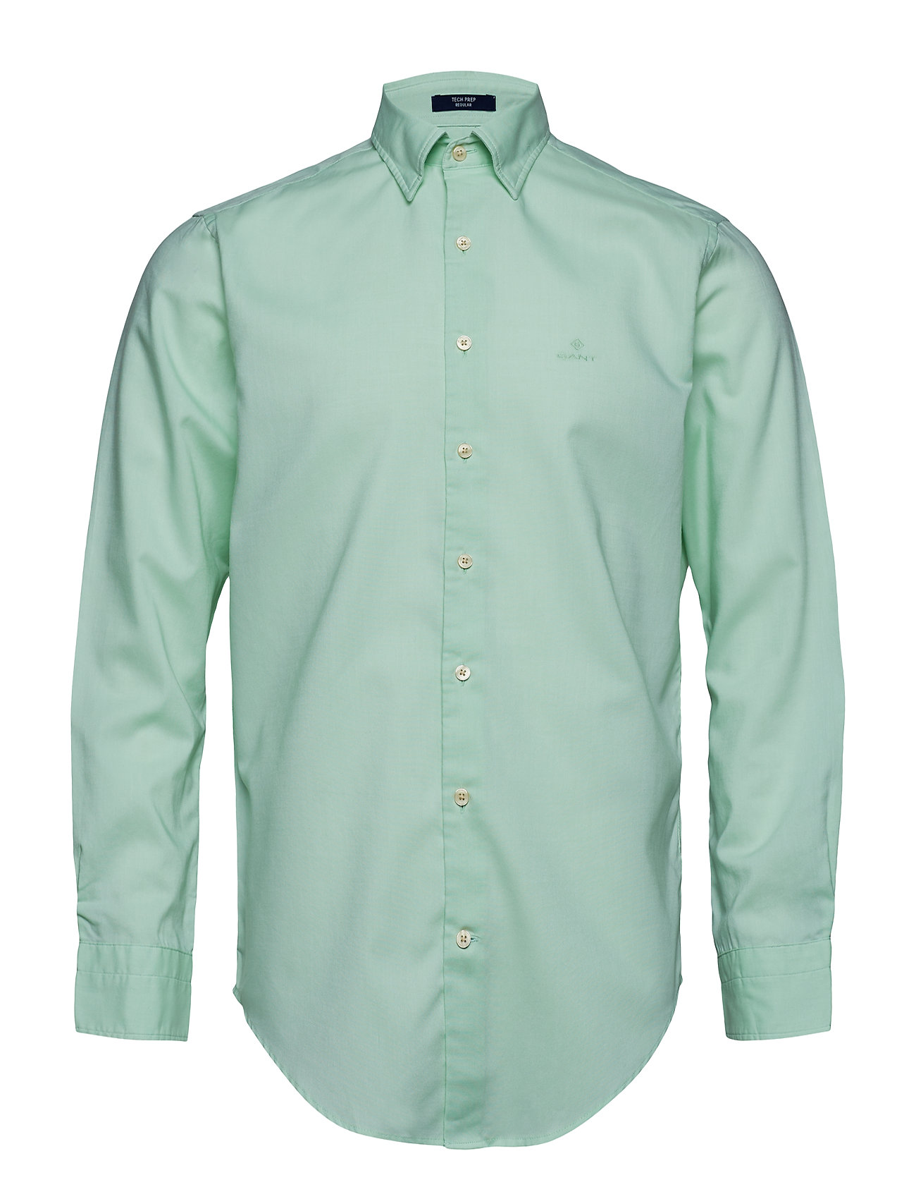 GANT Tp Oxford Plain Reg Hbd Hemd Business Grün GANT