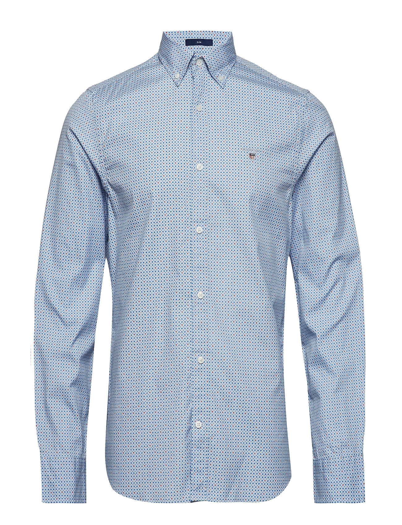 Gant O2. MICRO SNOWDROP SLIM BD - LIGHT BLUE