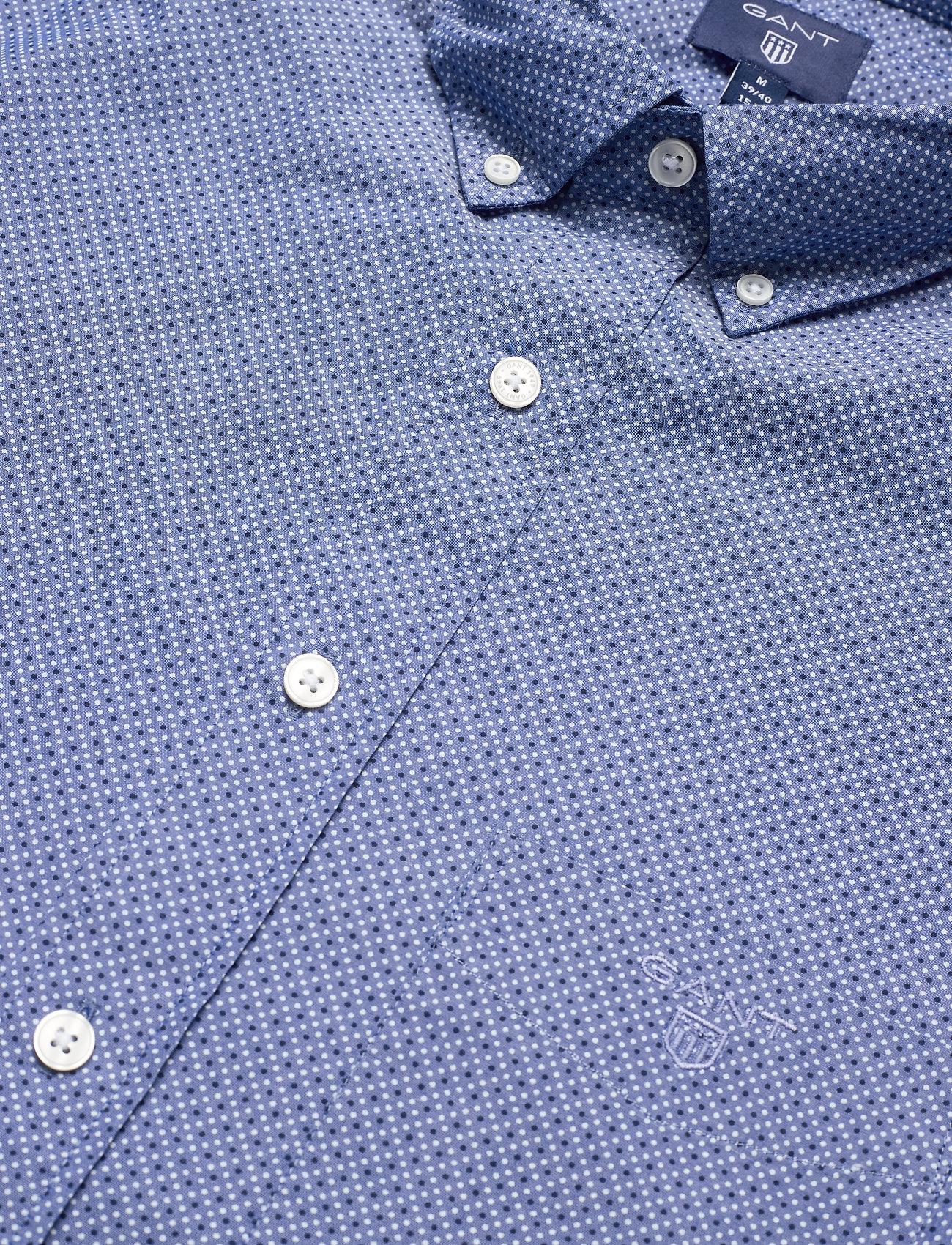 O1. The Broadcloth Dot Slim Bd (College Blue) (600 kr) - GANT