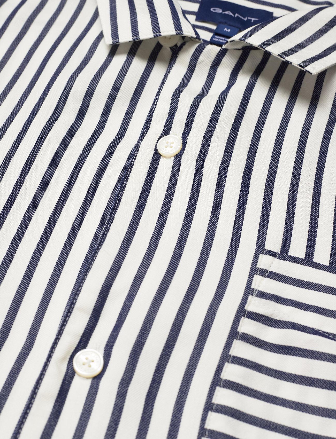 GANT - D1. REL STRIPE GANT RIVIERA - koszule w kratkę - persian blue - 3