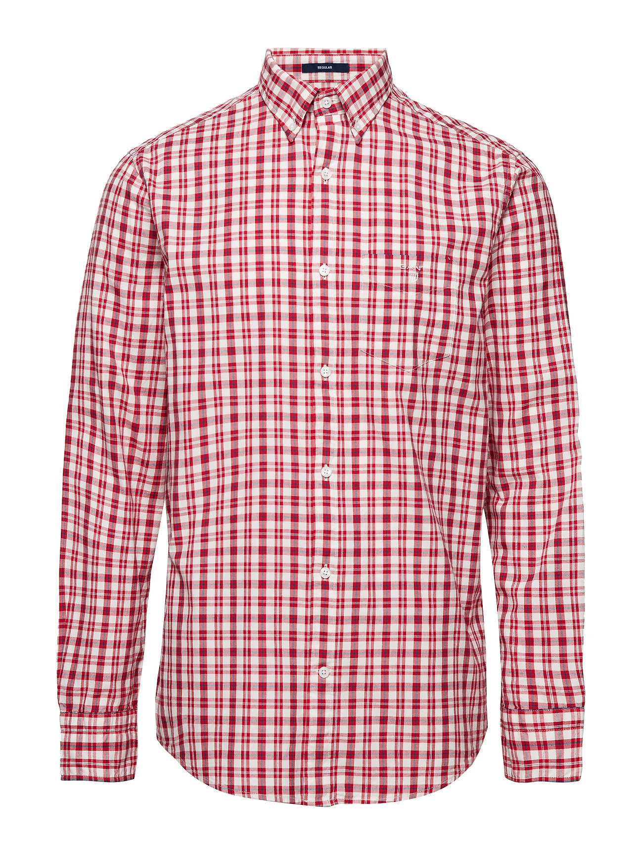 GANT O1. CAMPUS OXFORD CHECK REG BD