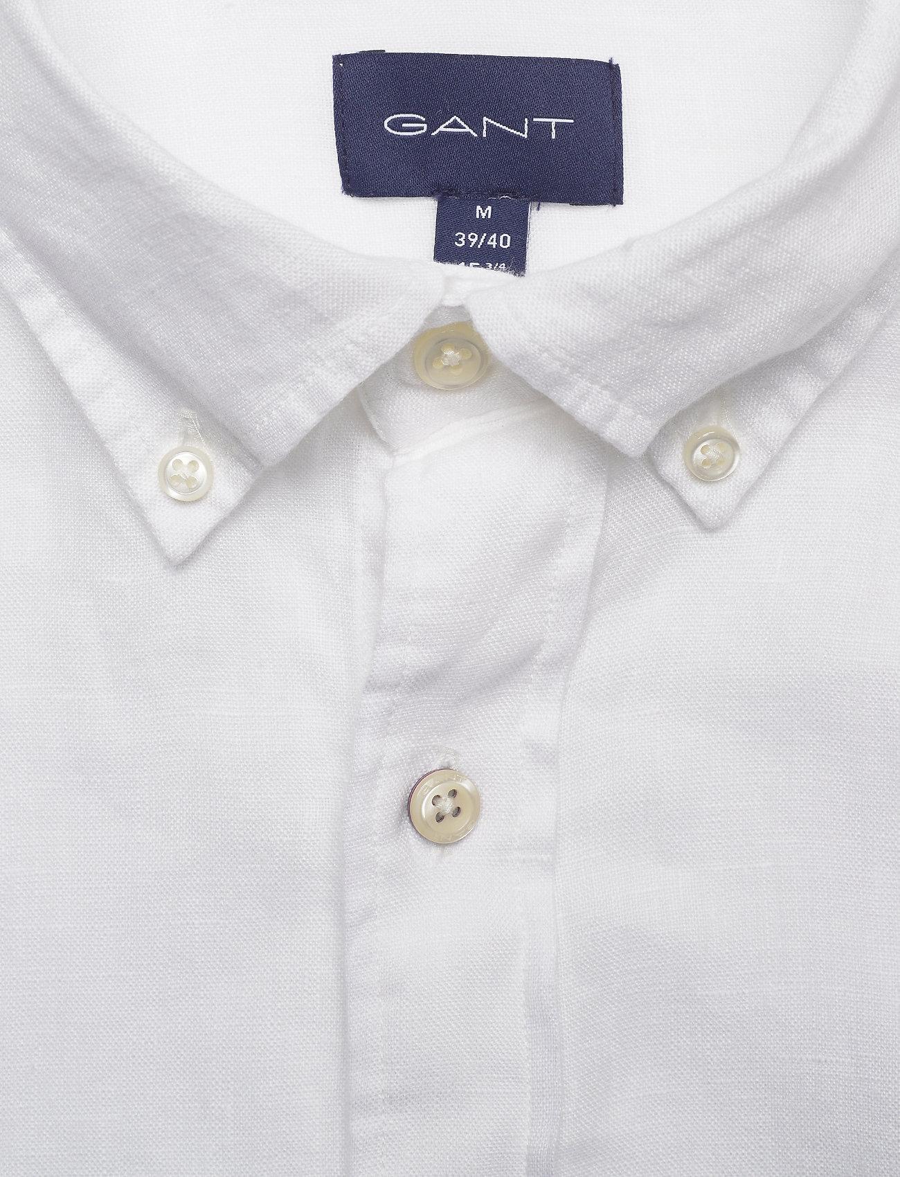 Slim Linen Shirt Bd (White) (975 kr) - GANT