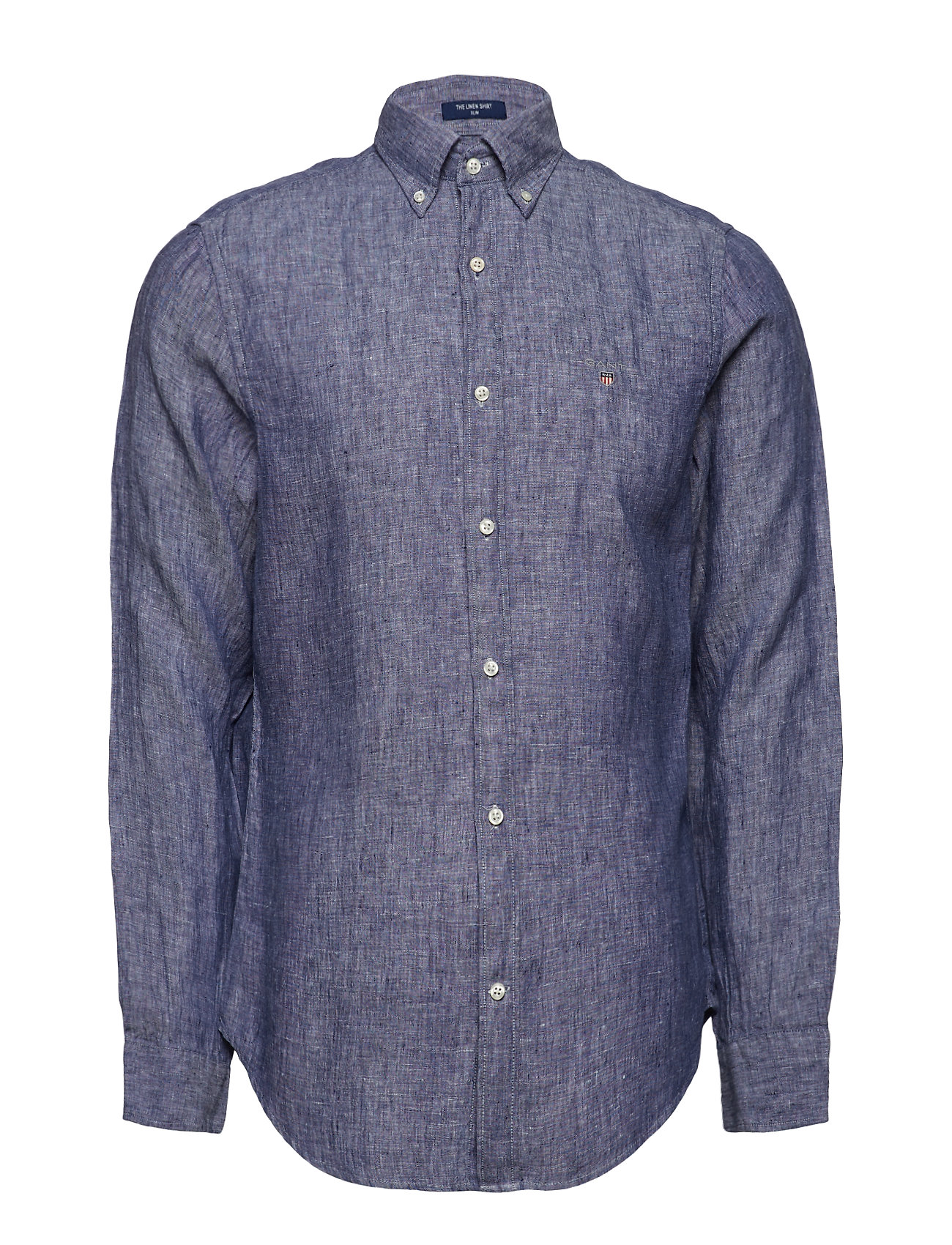 GANT THE LINEN SHIRT SLIM BD Ögrönlar