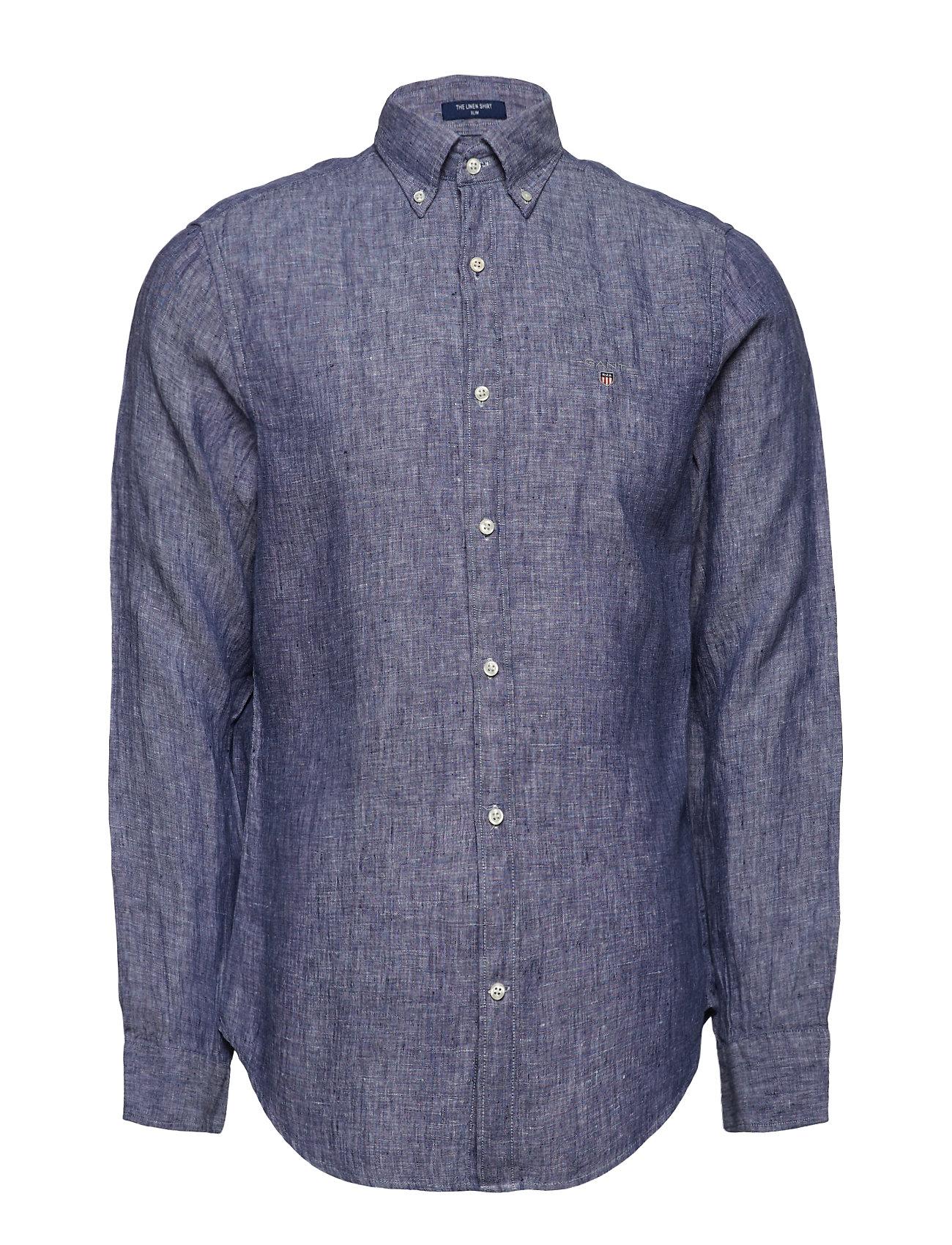 Linen BlueGant The Bdpersian Slim Shirt mnwN80
