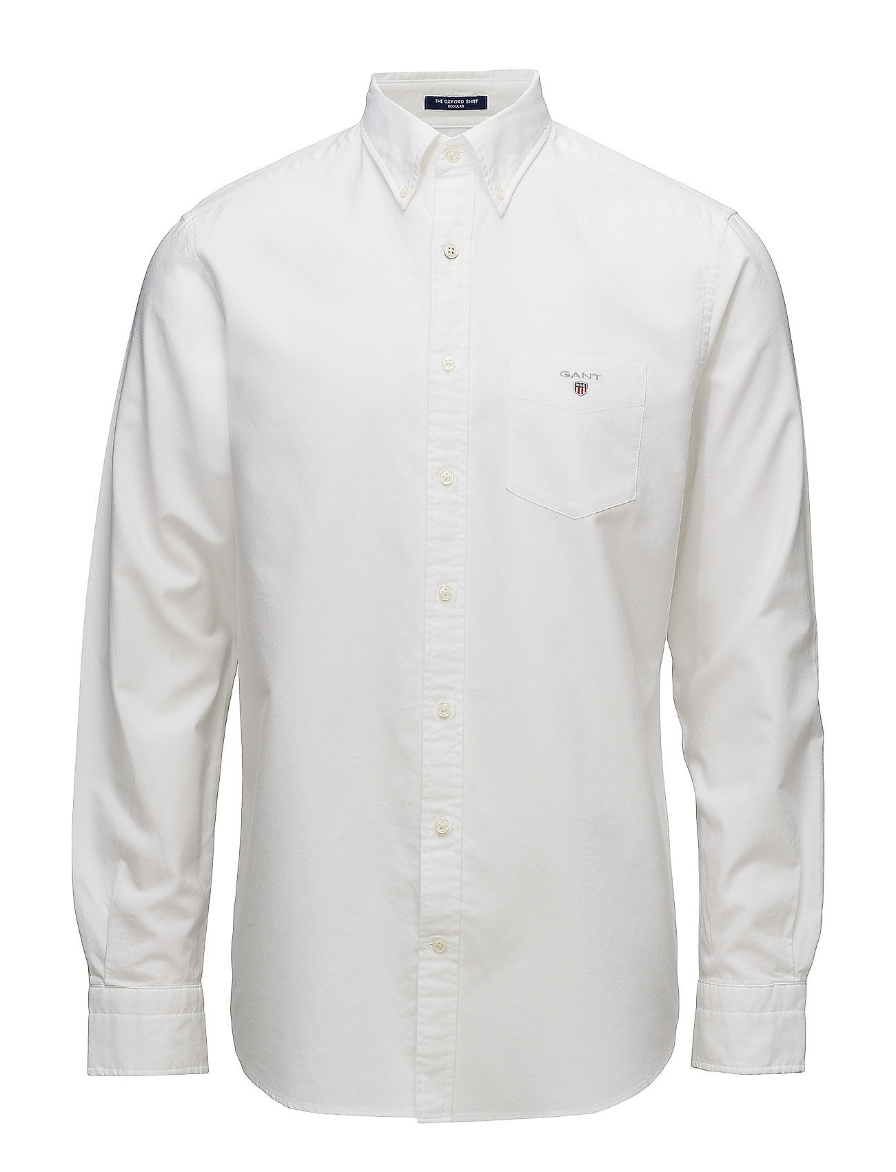 Gant THE OXFORD SHIRT REG BD - WHITE