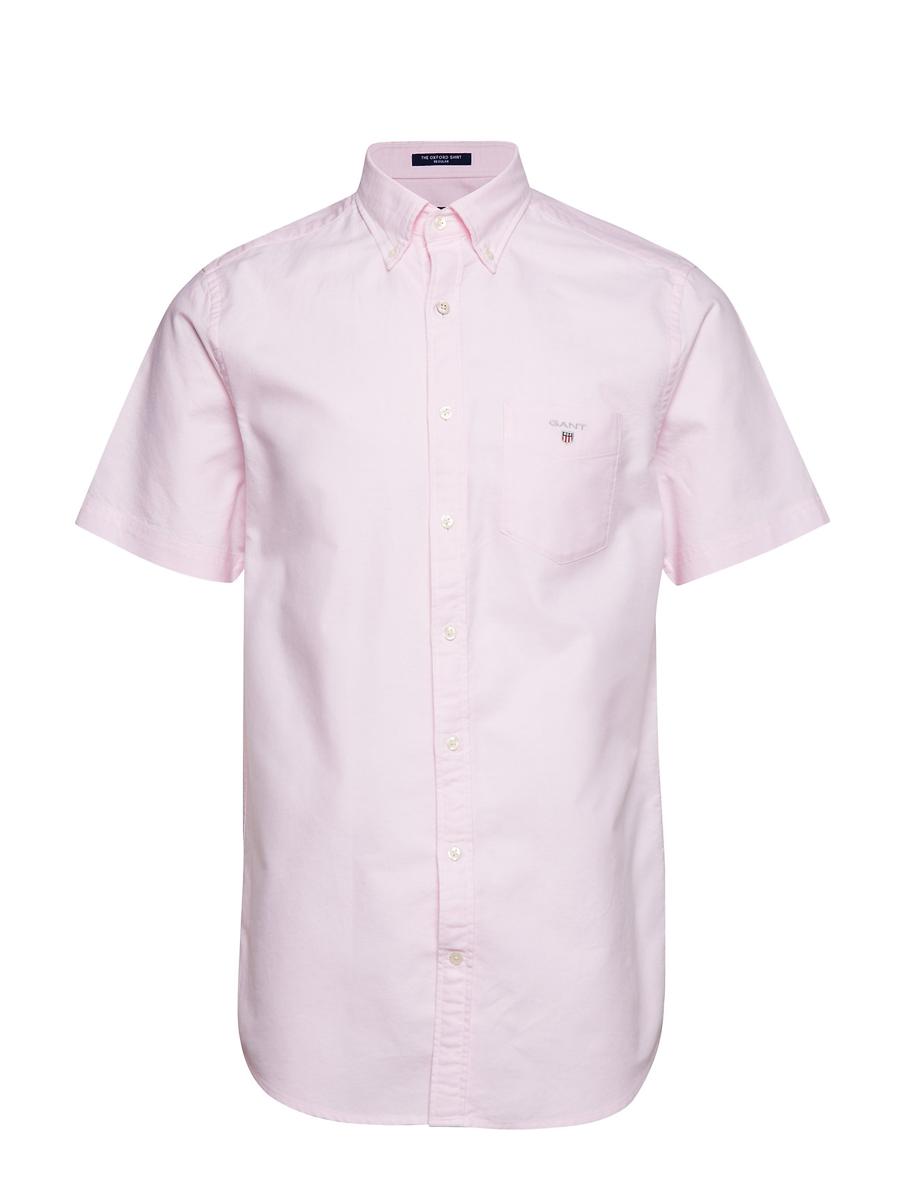 GANT THE OXFORD SHIRT REG SS BD - LIGHT PINK