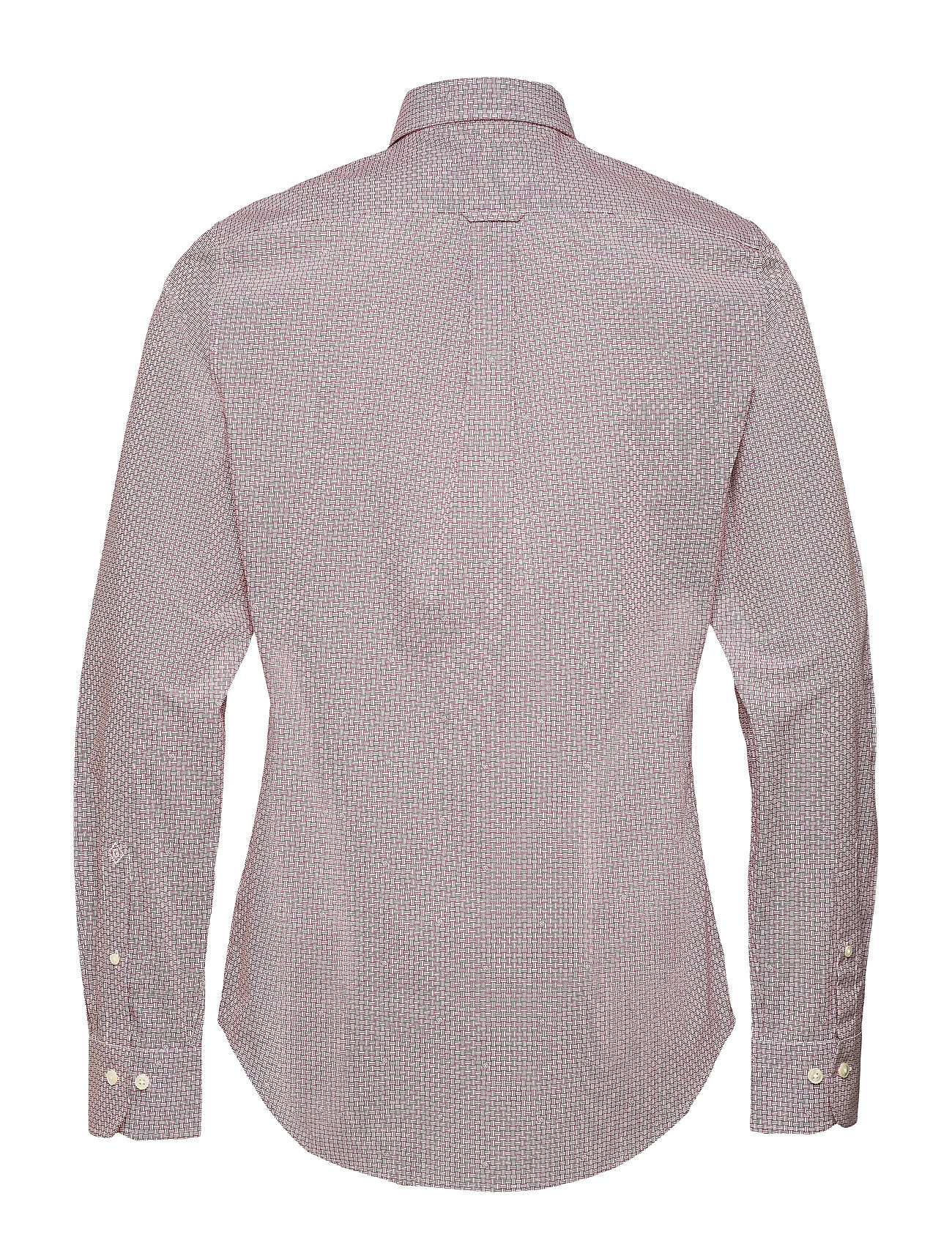 GANT O1. Signature Print Slim Hbd Hemd Business Pink GANT