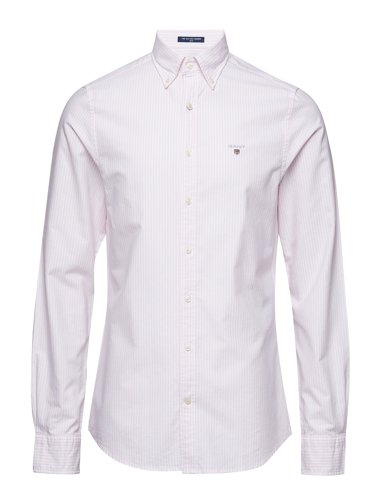 Gant THE OXFORD BANKER SLIM BD - LIGHT PINK