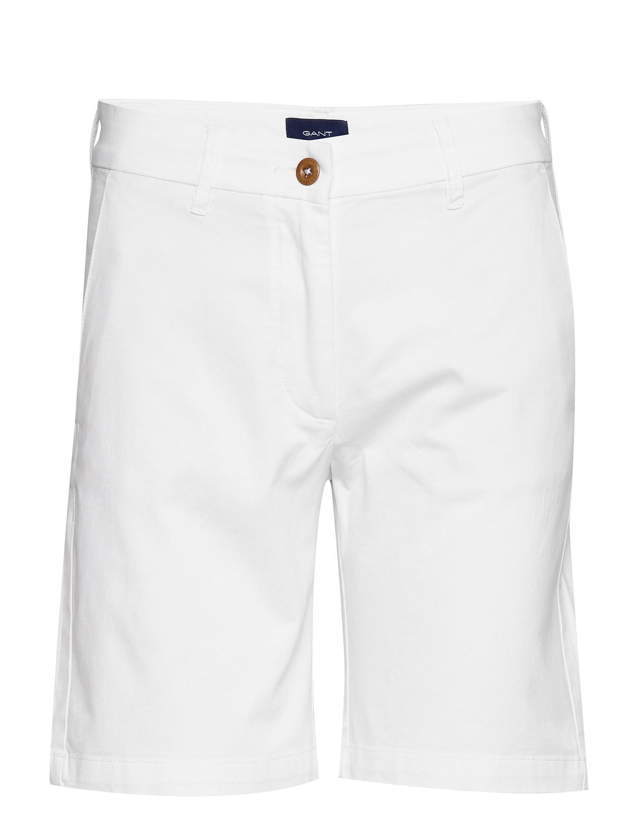 Gant D1. CLASSIC CHINO SHORTS - WHITE