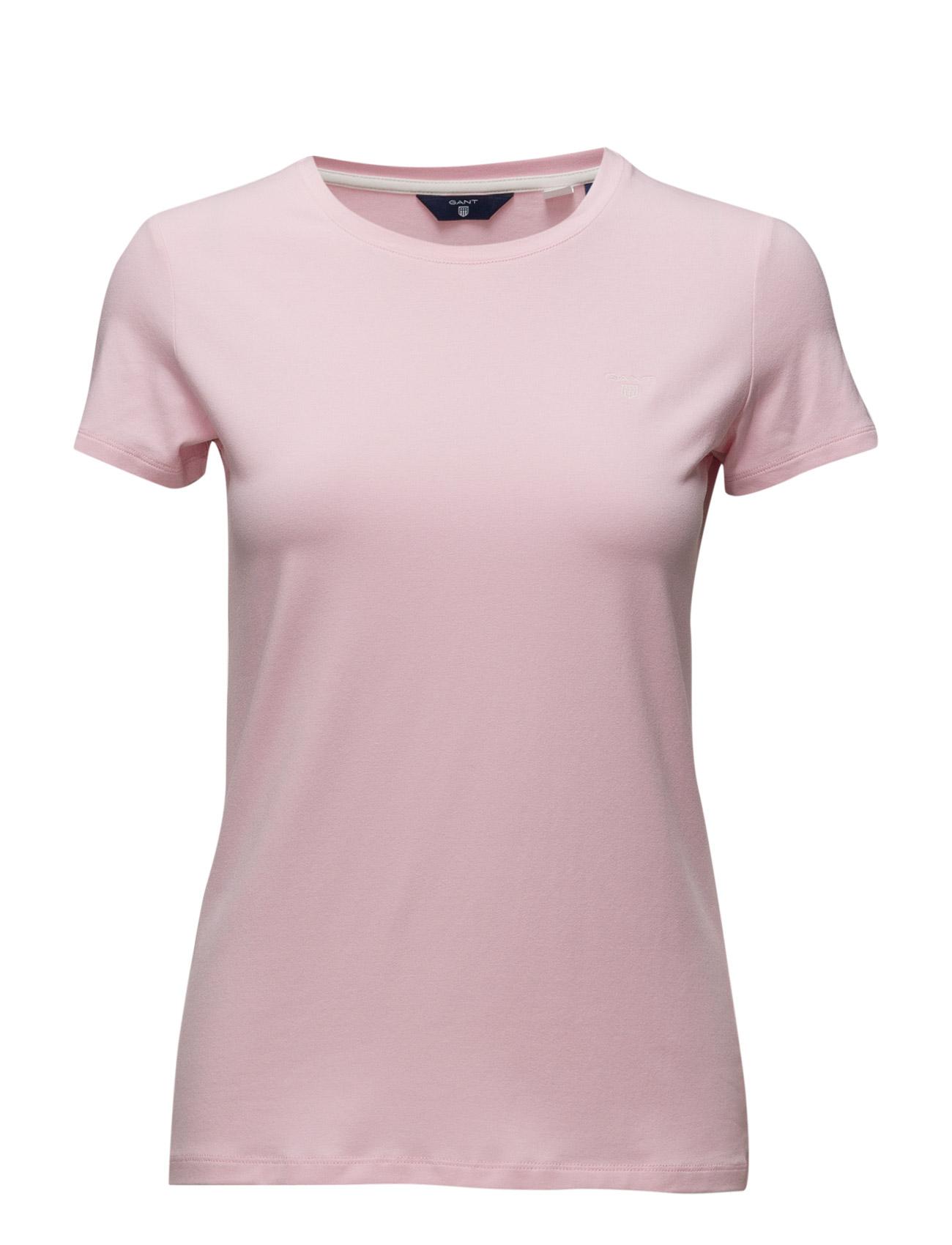 Cott/Ela C-Neck Ss T-Shirt
