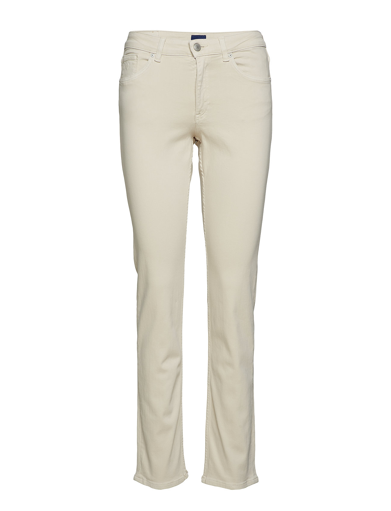 GANT - SLIM TWILL JEANS - slim jeans - putty - 0
