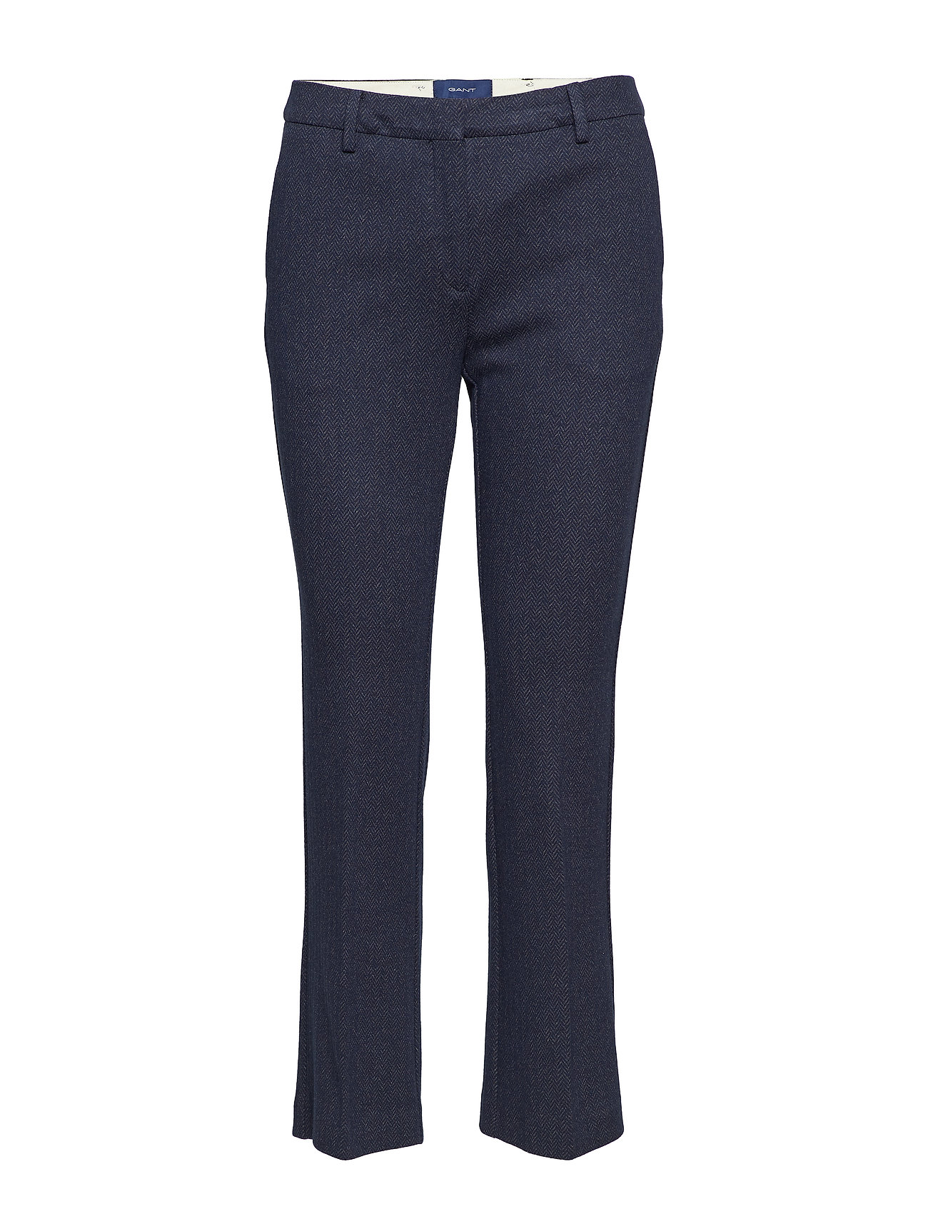 6b389090 O1.herringbone Jersey Pants (Marine) (£77.50) - GANT - | Boozt.com