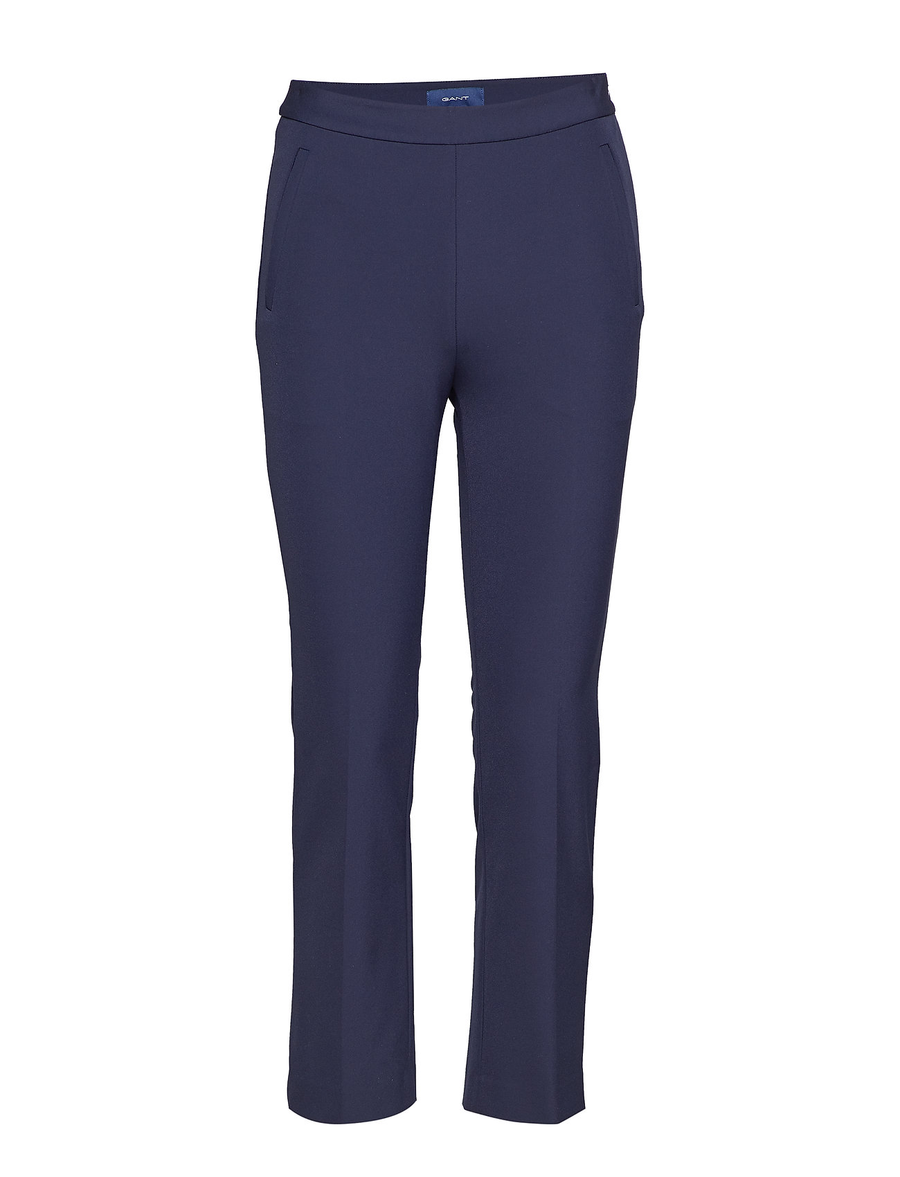 GANT O1. STRAIGHT CROPPED PANT Byxor