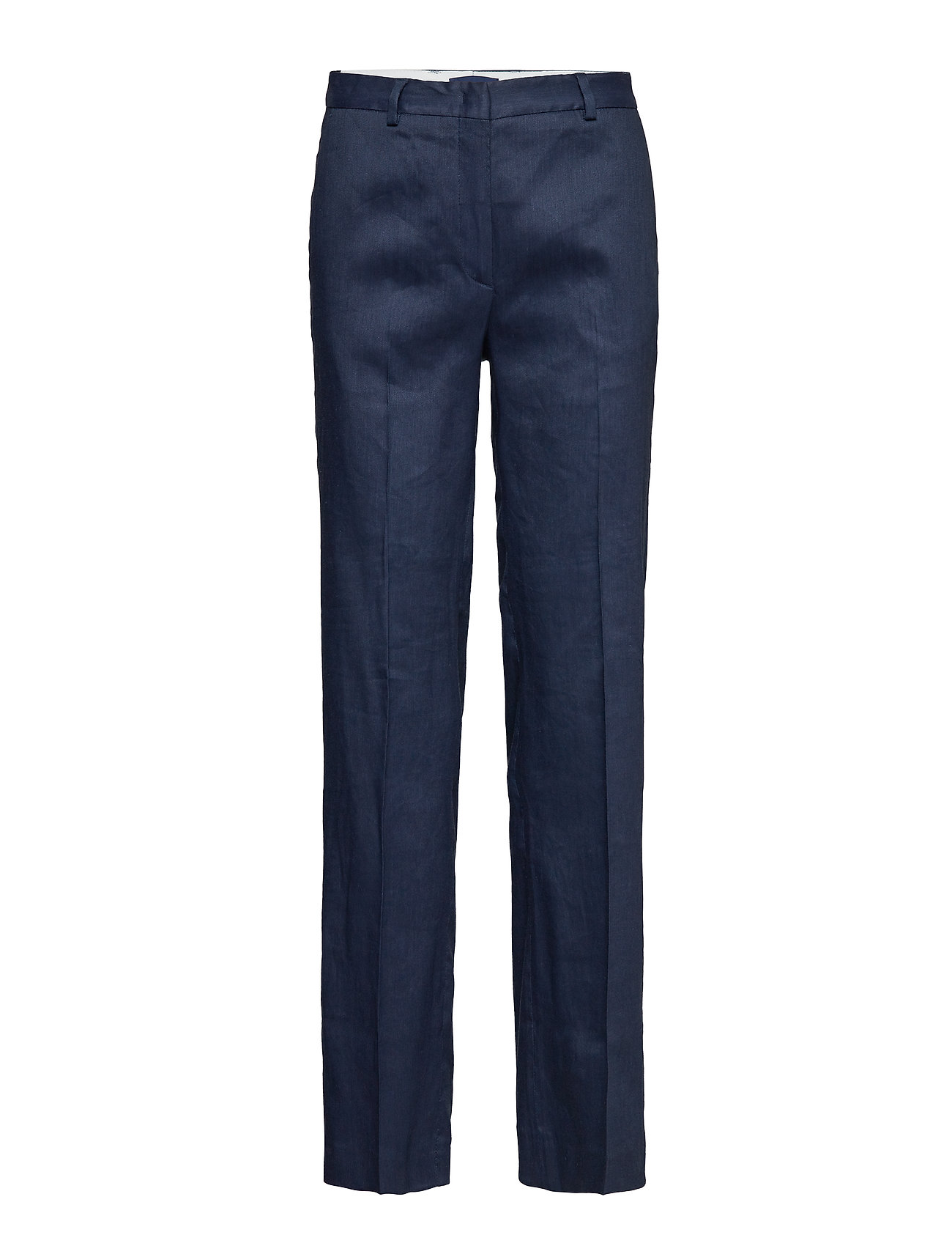 GANT O2. STRETCH LINEN WIDE PANT Byxor