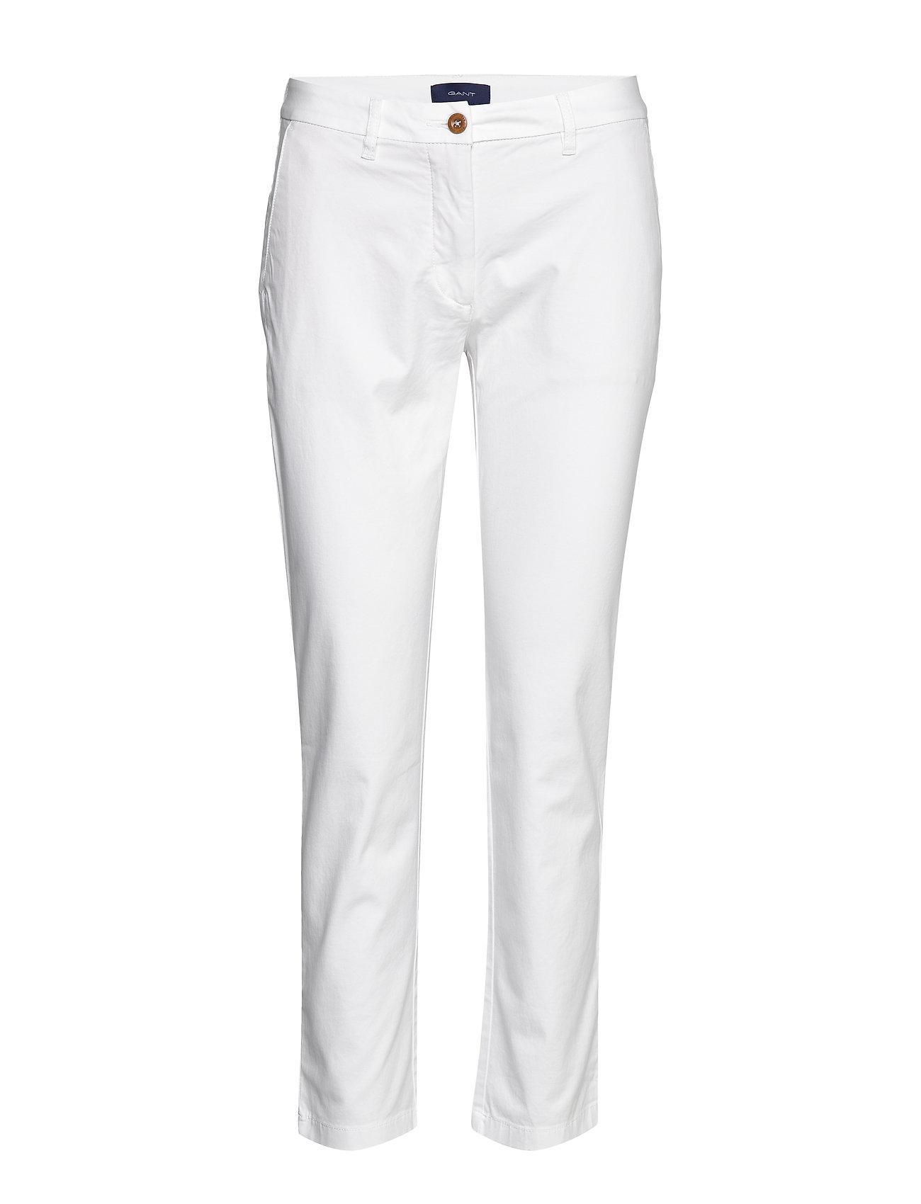 Gant CLASSIC CHINO - WHITE