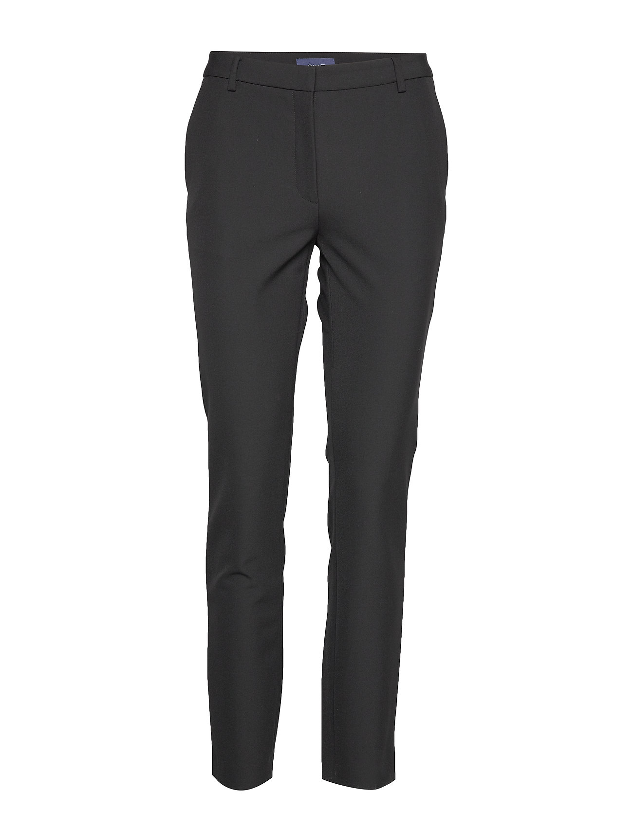 GANT D1. STRETCH TAPERED PANT - BLACK