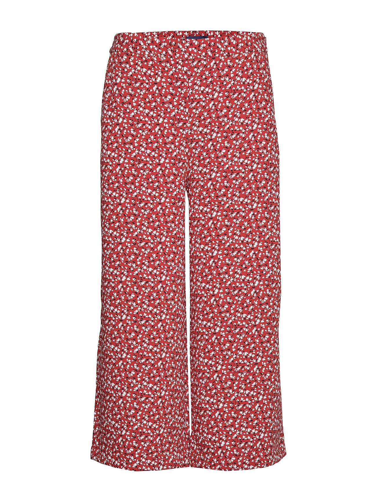 Gant D2. FRENCH FLORAL FLUID CULOTTE - IRON RED