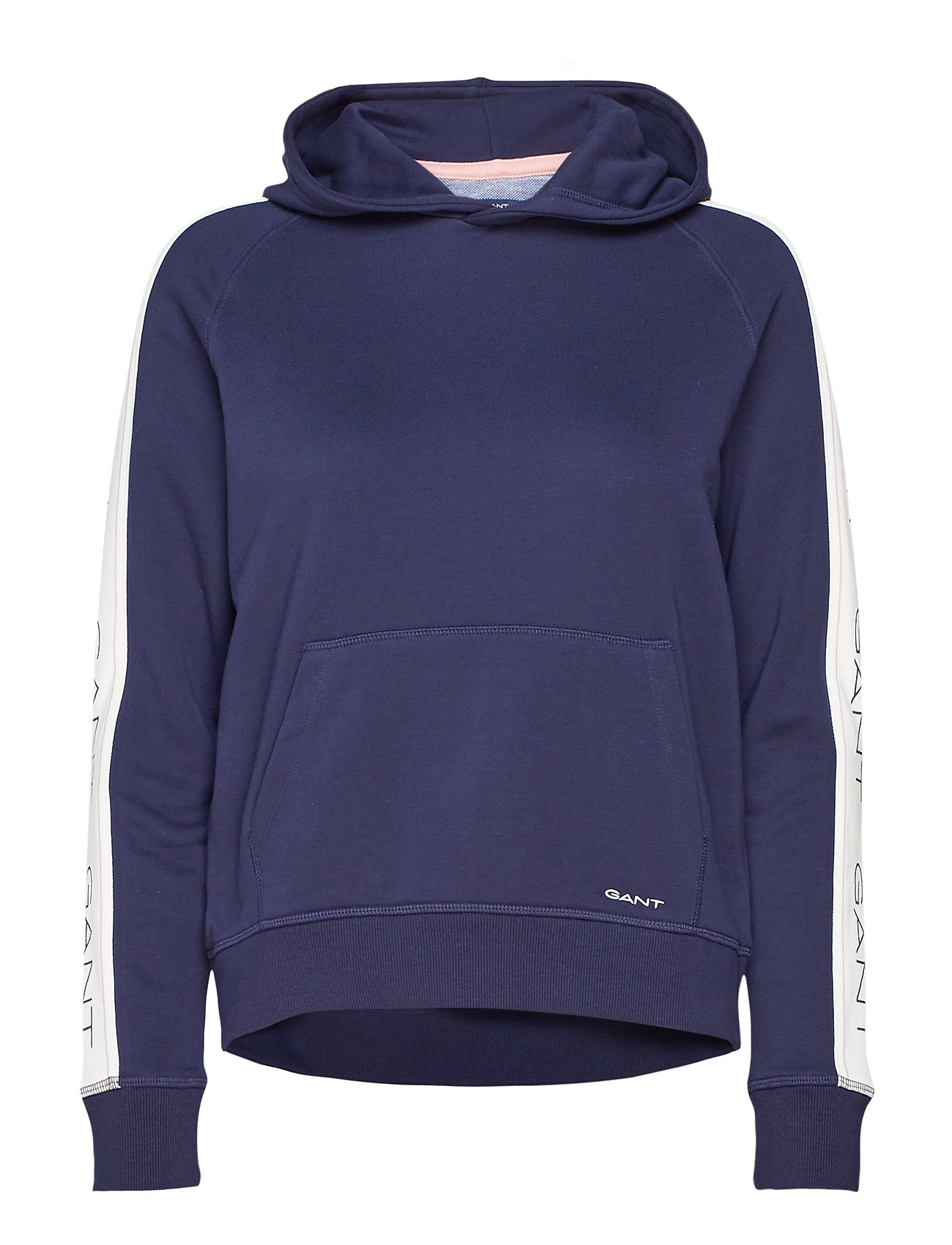 GANT O1. GANT ICON SWEAT HOODIE - EVENING BLUE