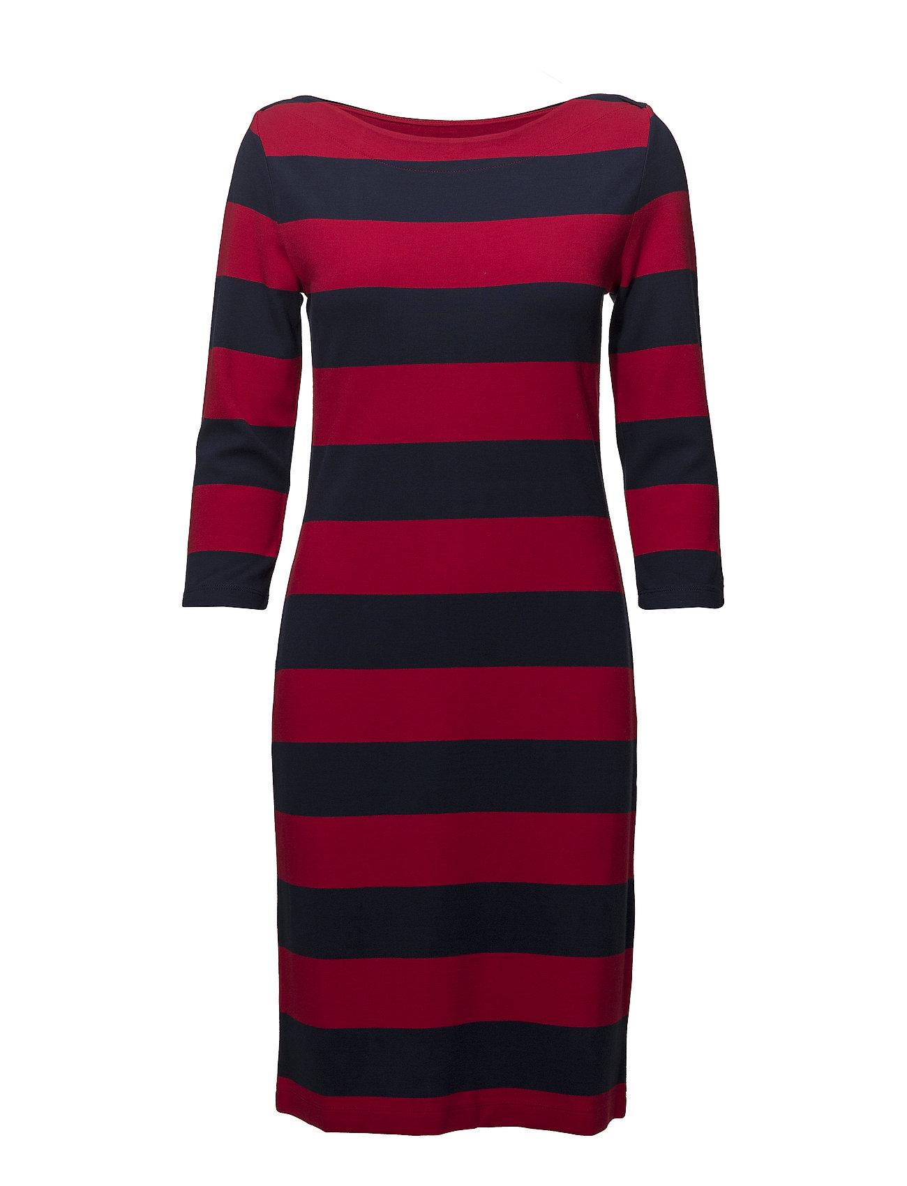 GANT O1. STRIPED BOATNECK DRESS