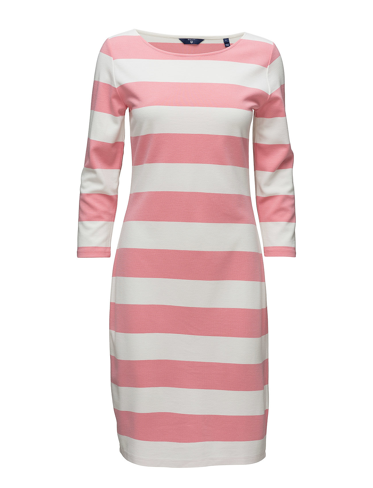 GANT O1. BARSTRIPED SHIFT DRESS