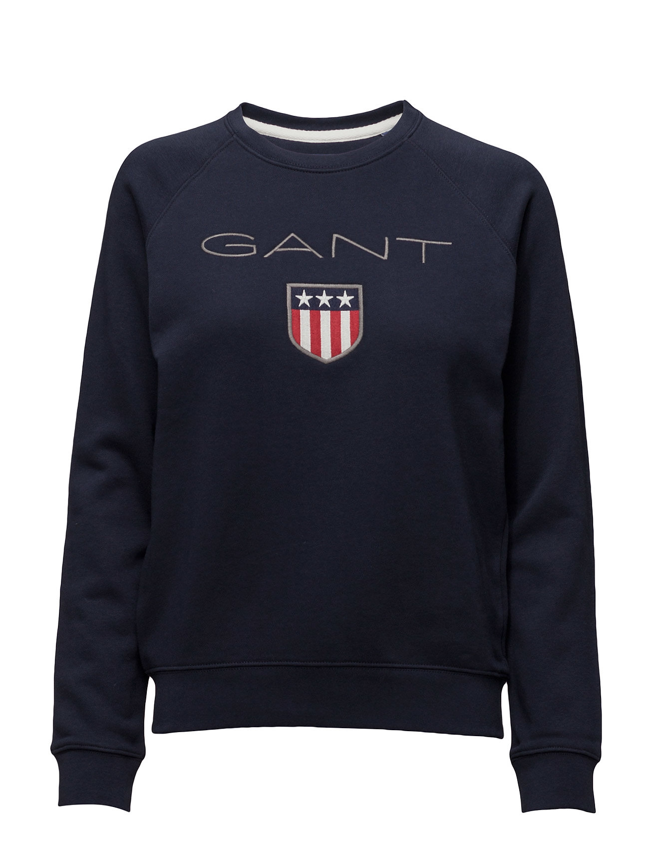GANT GANT SHIELD LOGO C-NECK SWEAT