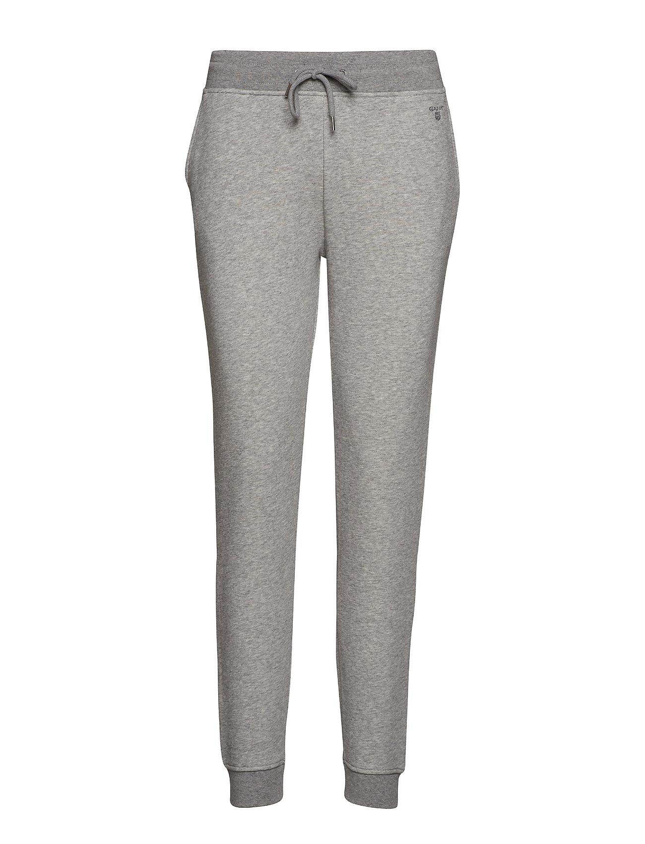 Gant TONAL SHIELD SWEAT PANTS - GREY MELANGE