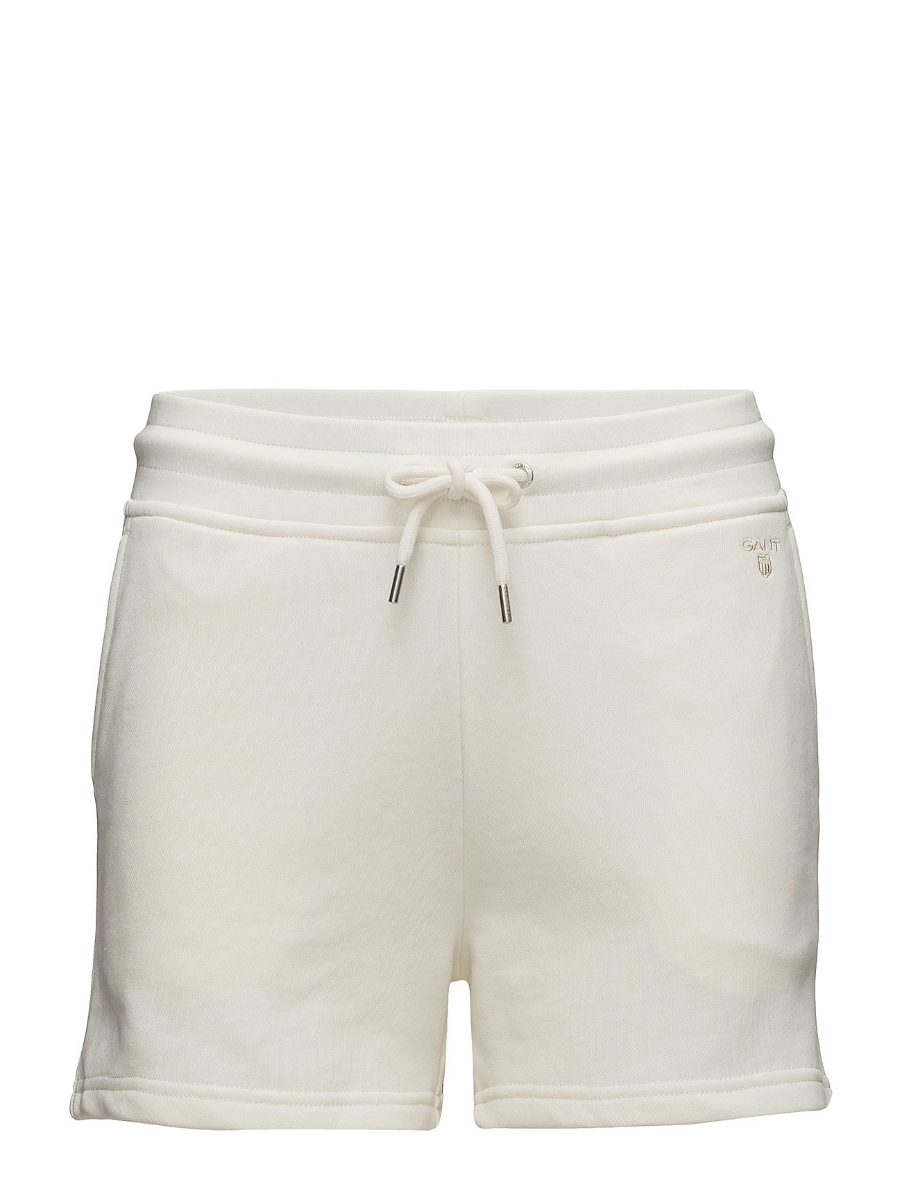 Gant O1. TONAL SHIELD SWEAT SHORTS - OFFWHITE