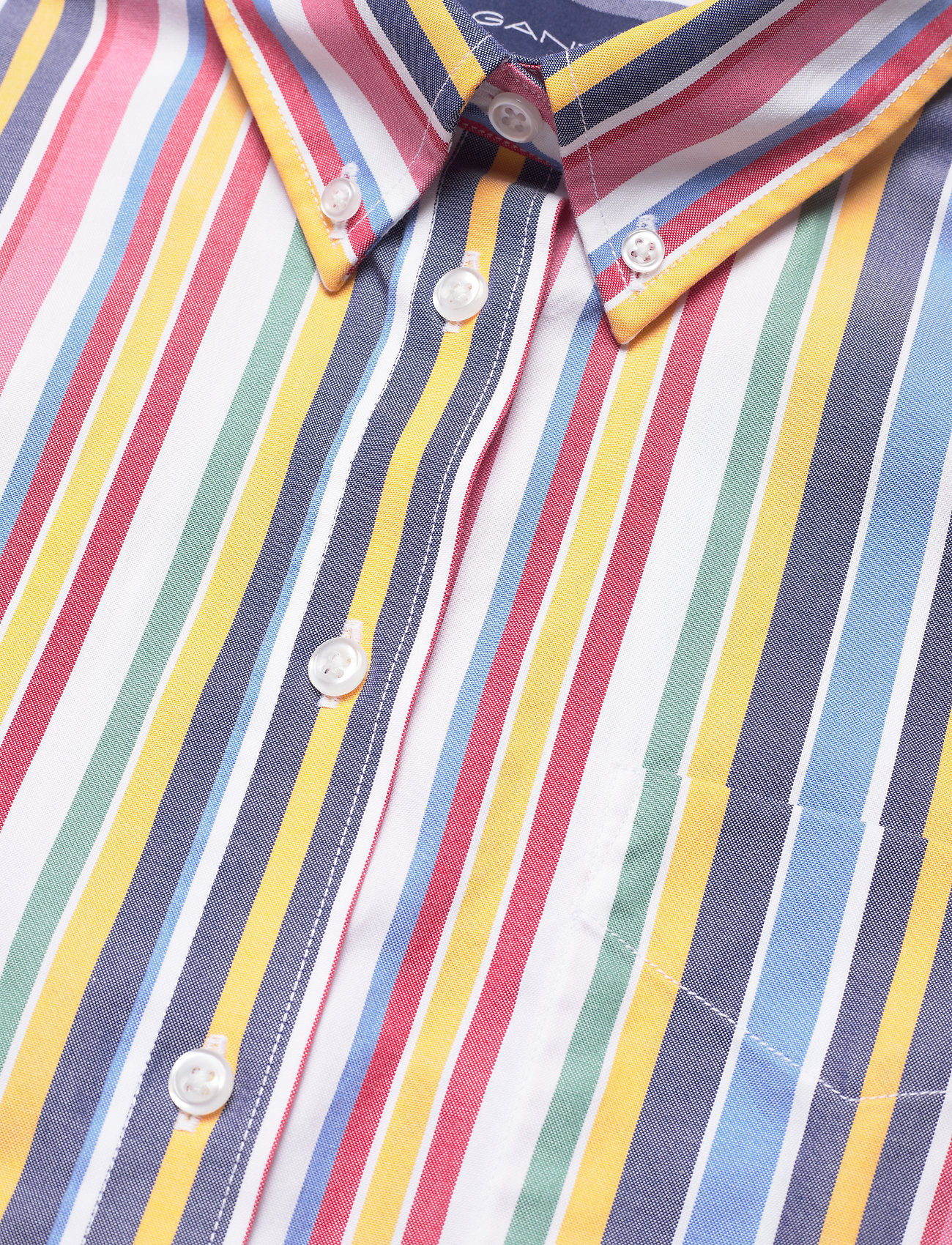 D1. Multi Stripe Exb Shirt (Warm Sun) (65.40 €) - GANT 0pIBn
