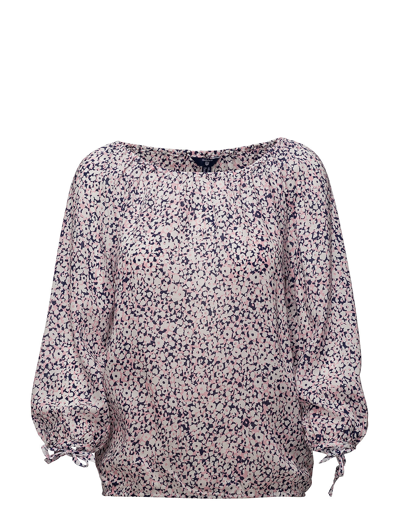Gant O1. DITZY FLOWER BLOUSE - STRAWBERRY PINK