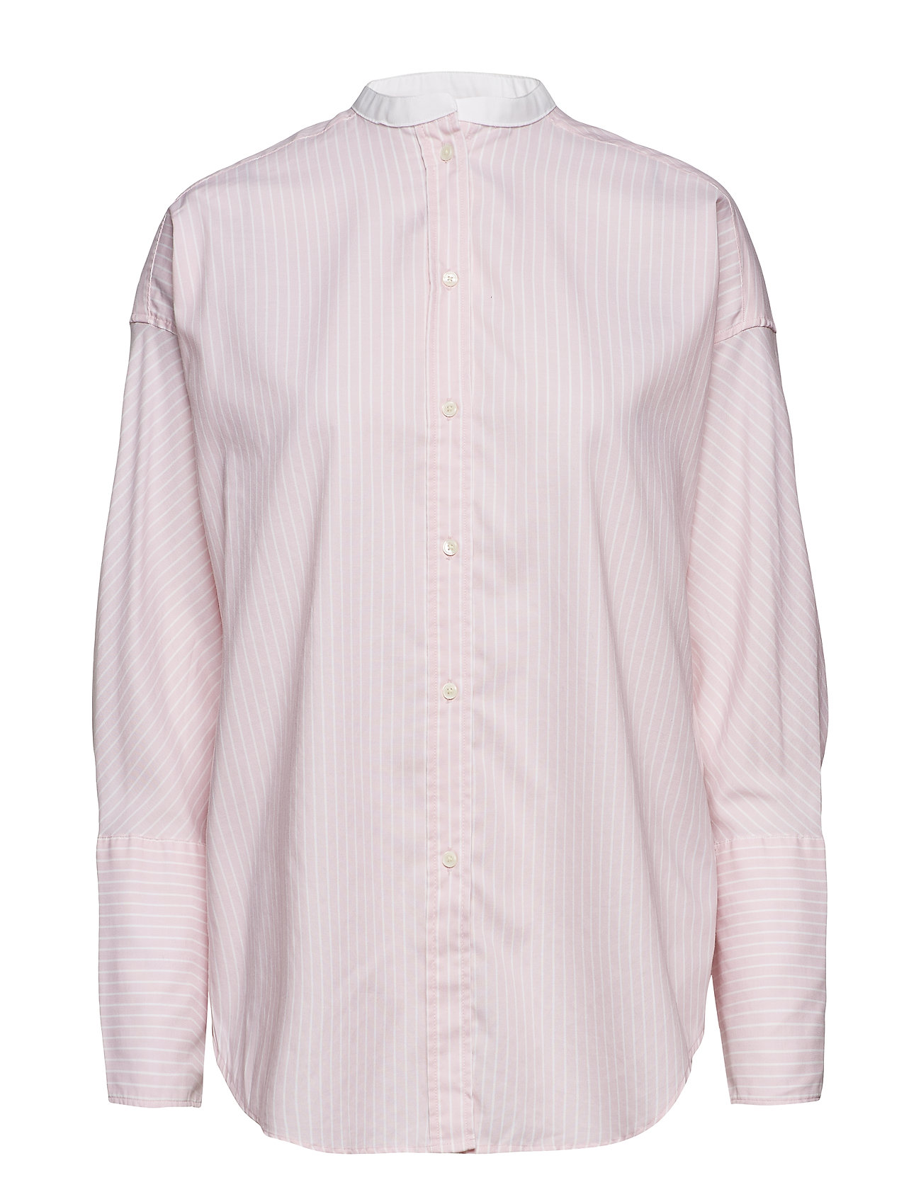 Gant O1. TP OVERSIZED OXFORD SHIRT - CALIFORNIA PINK