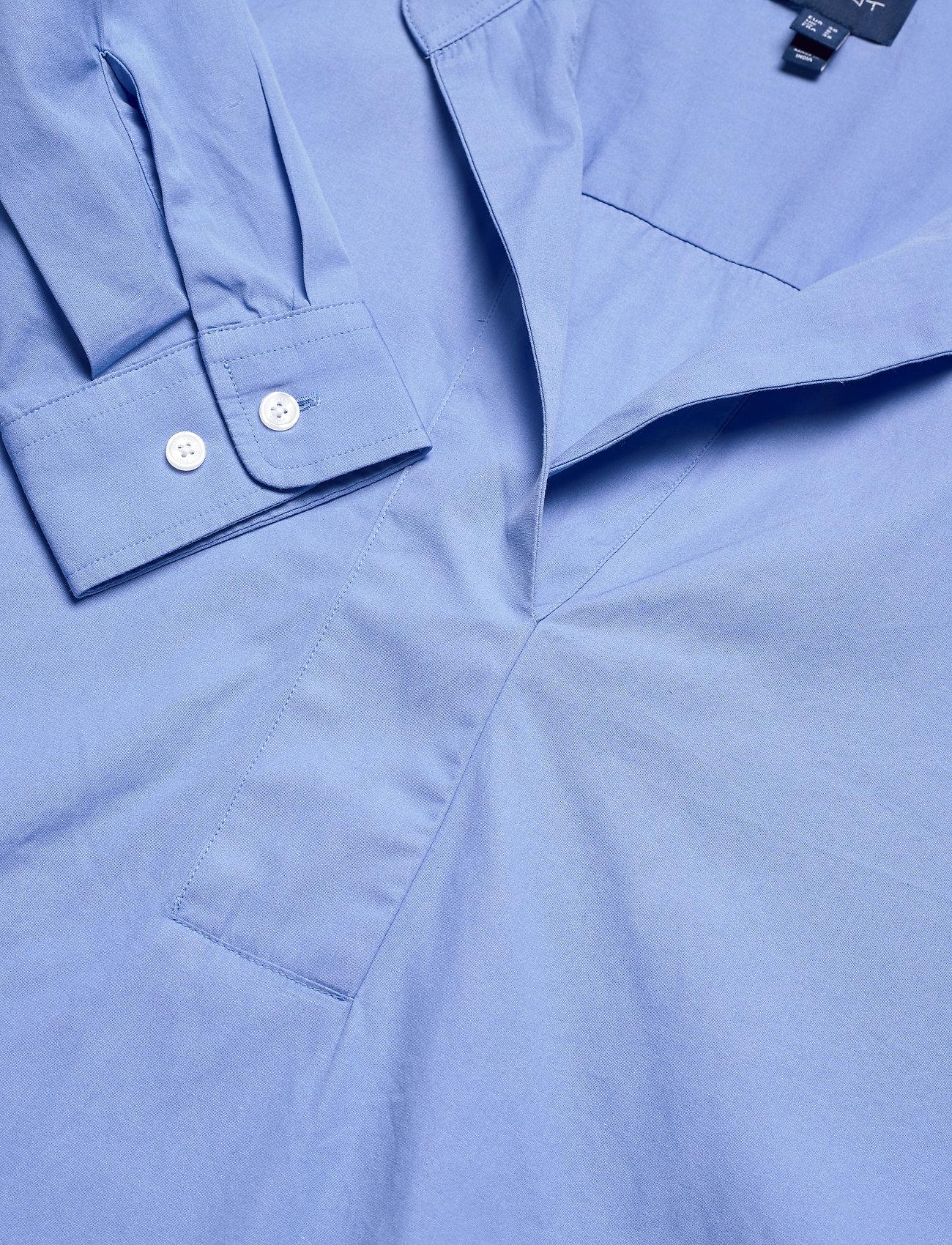 Gant D1. Popover Rugger Solid Shirt - Blusar & Skjortor Lavender Blue