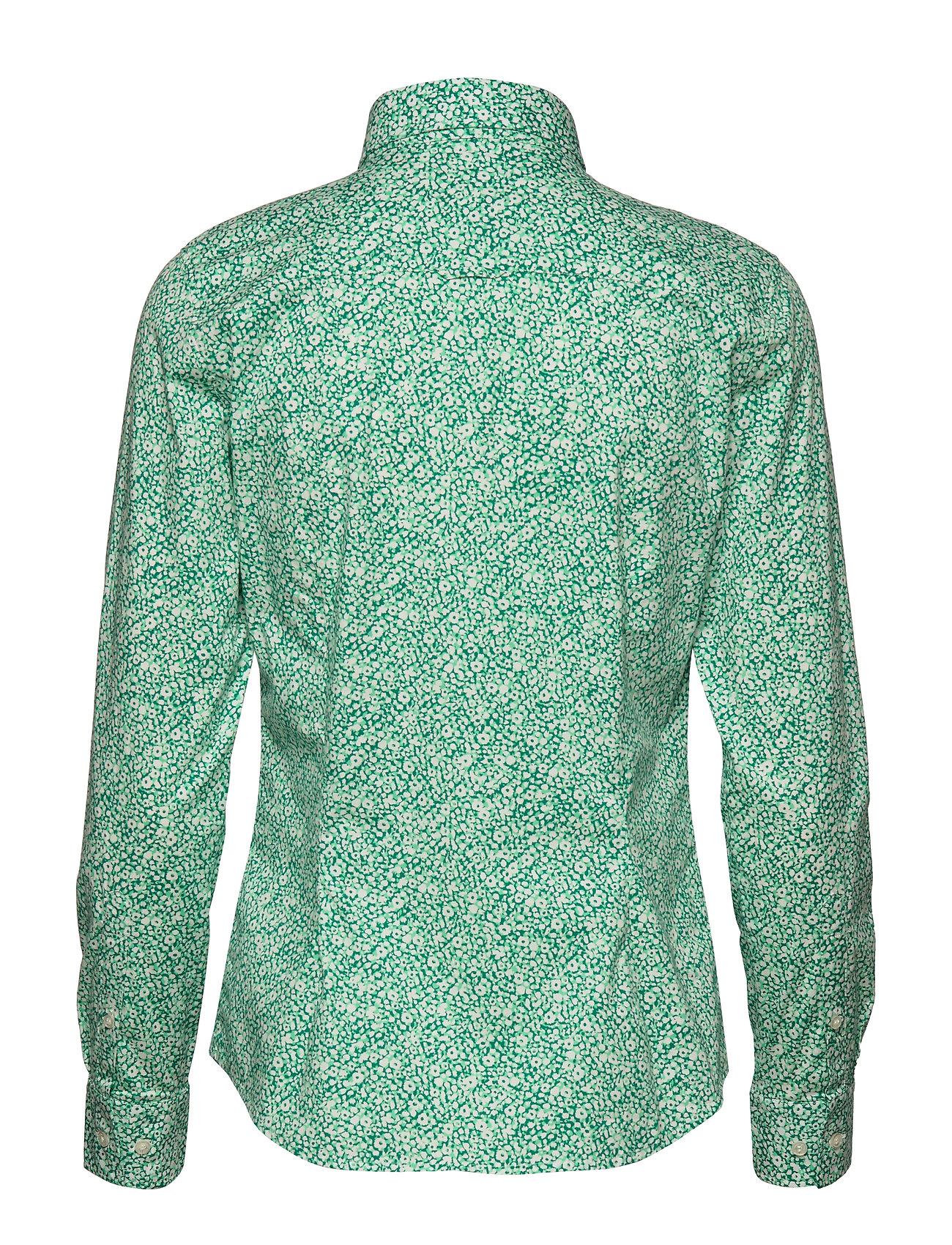 Gant O1. Stretch Broadcloth Ditzy Flower - Blusar & Skjortor