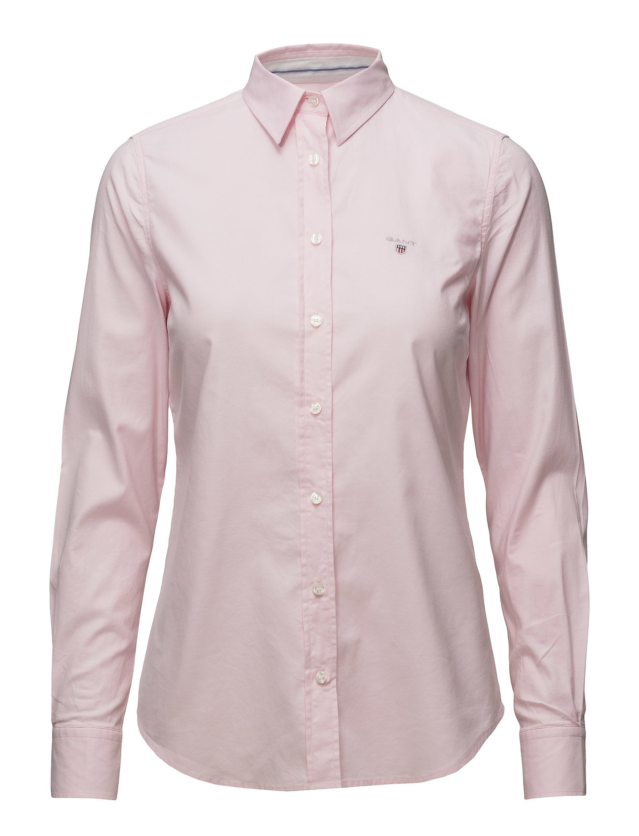 Gant STRETCH OXFORD SOLID - LIGHT PINK