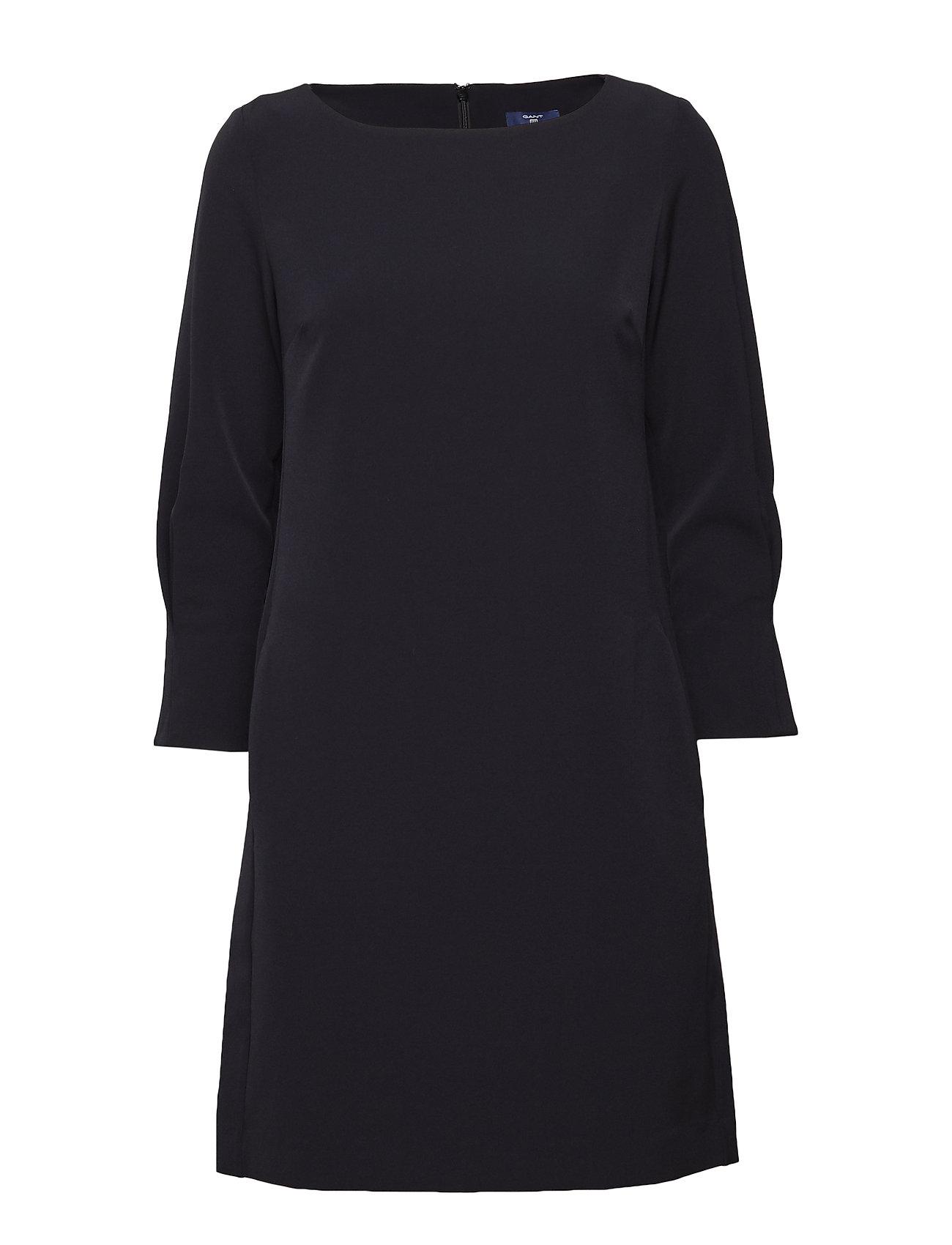 GANT O1.LITTLE BLACK DRESS - BLACK