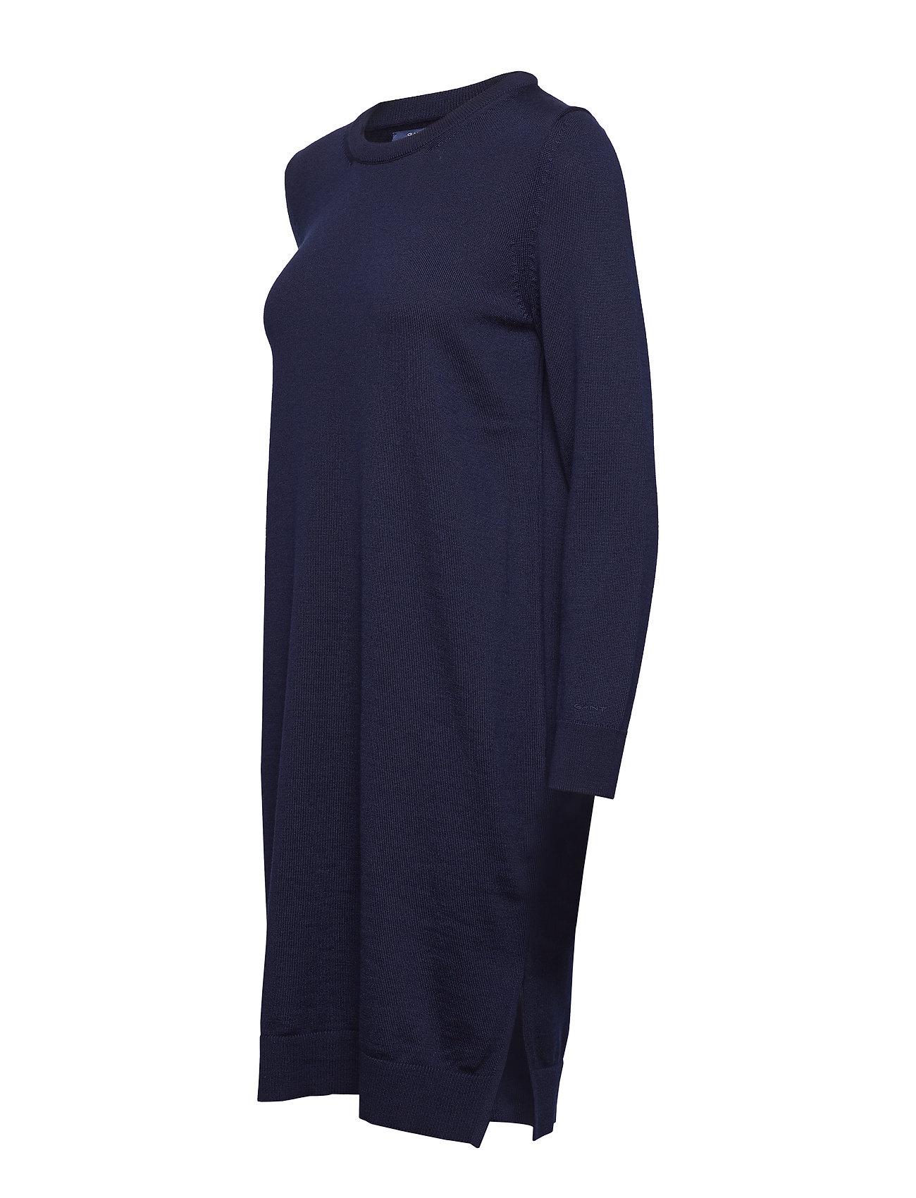 Wool D1Merino Wool Dressevening BlueGant D1Merino F1TJc3lK