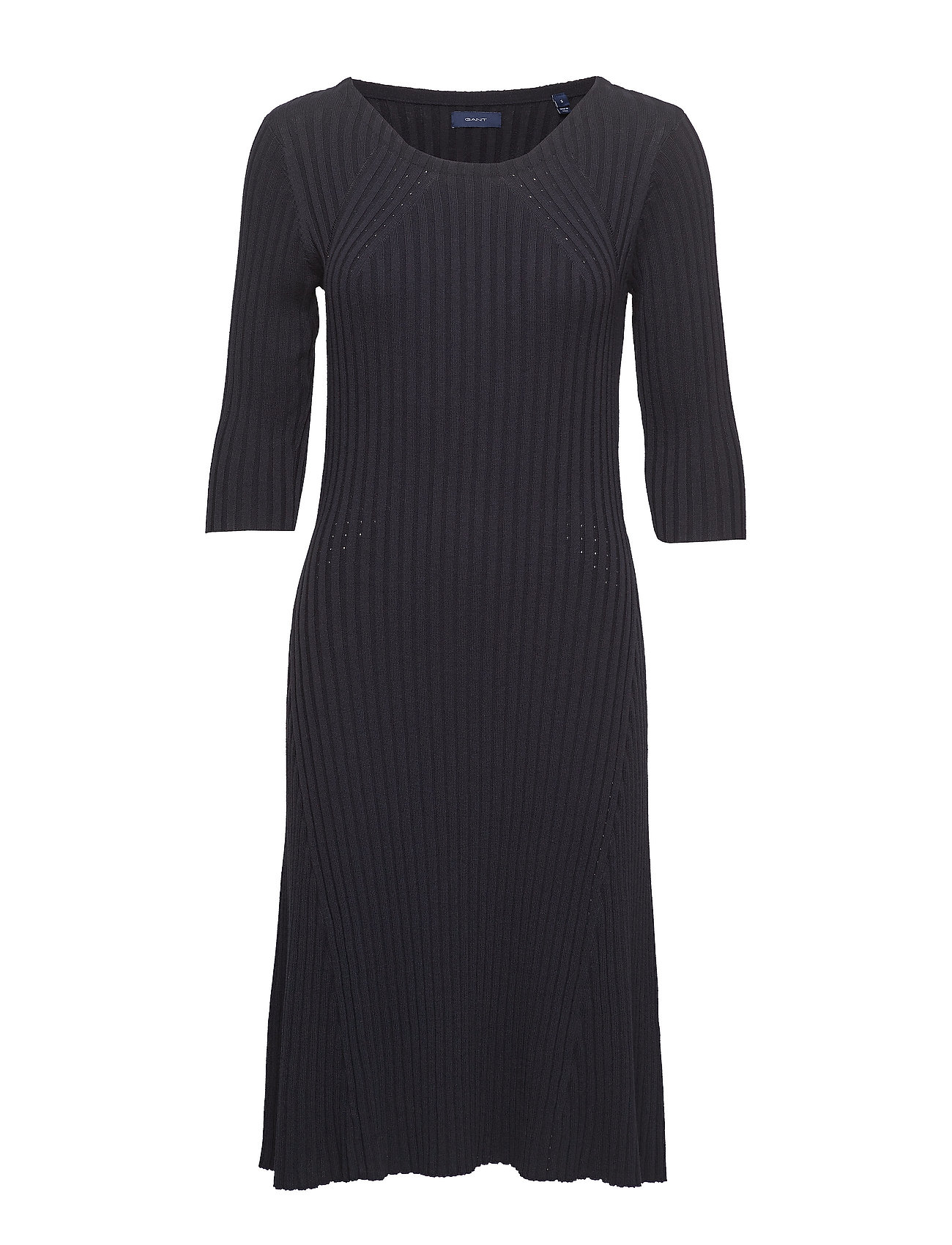GANT D1. KNITTED DRESS - EVENING BLUE