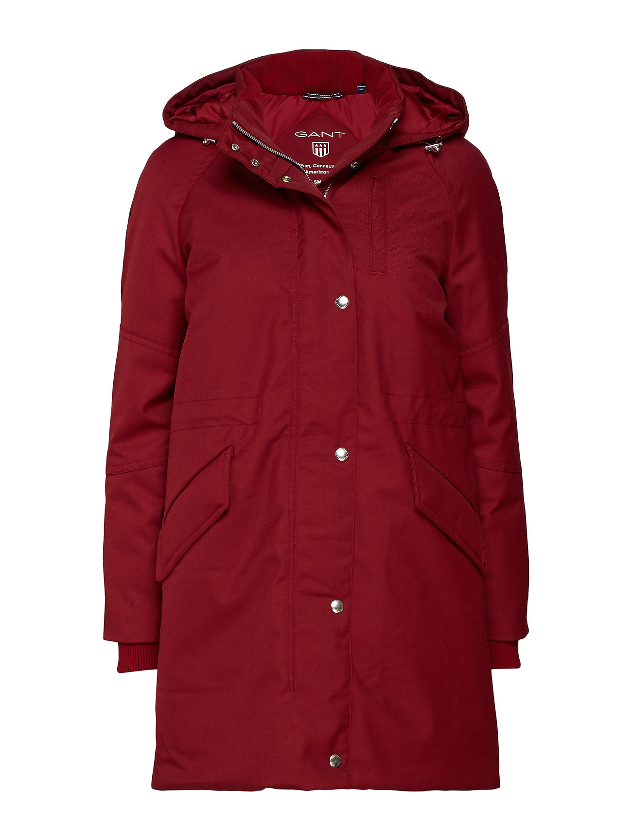 GANT O1. TECHNICAL WOOL DOWN PARKA