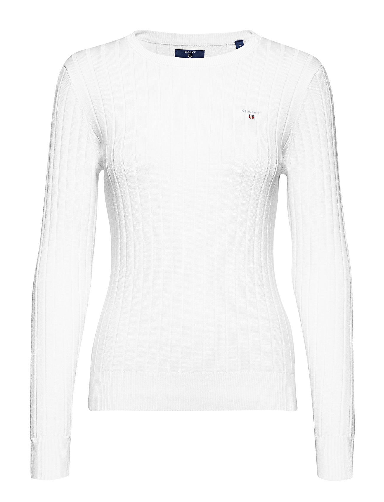GANT D1. STRETCH COTTON RIB CREW